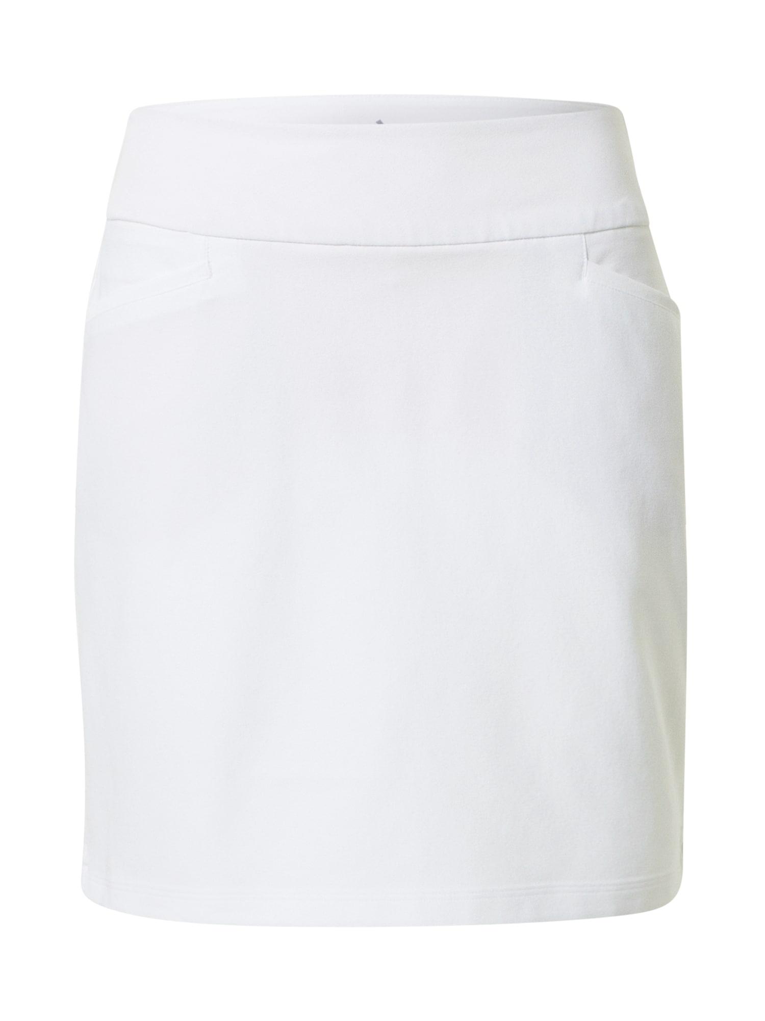 adidas Golf Sportinio stiliaus sijonas 'STAR' balta