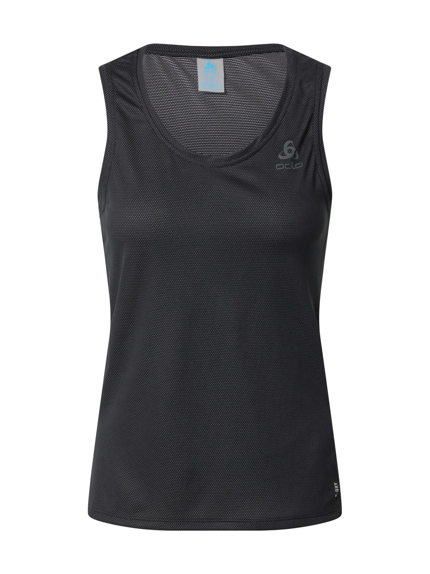 ODLO Sportiniai marškinėliai be rankovių juoda