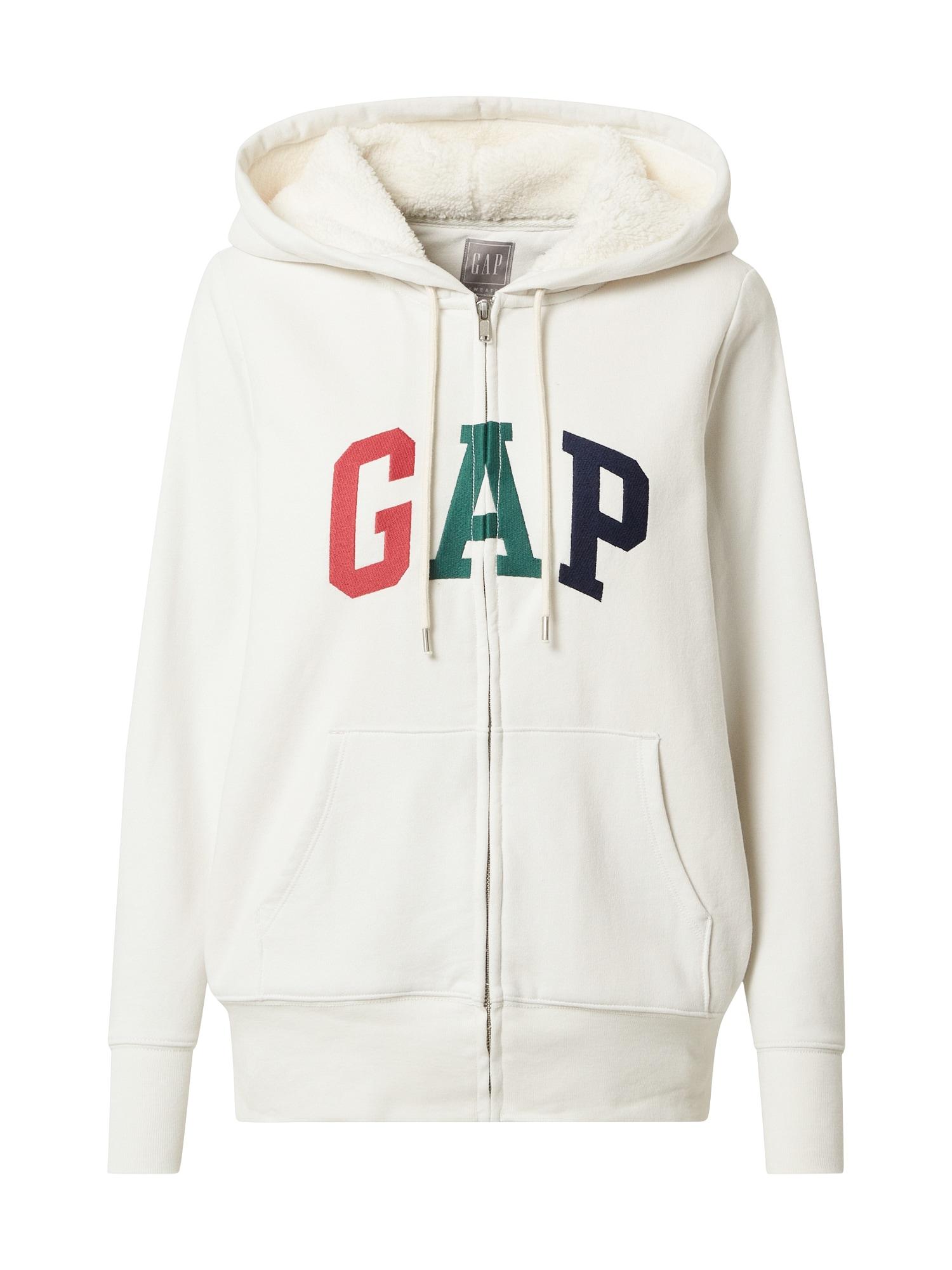 GAP Džemperis balta / raudona / pilka / juoda