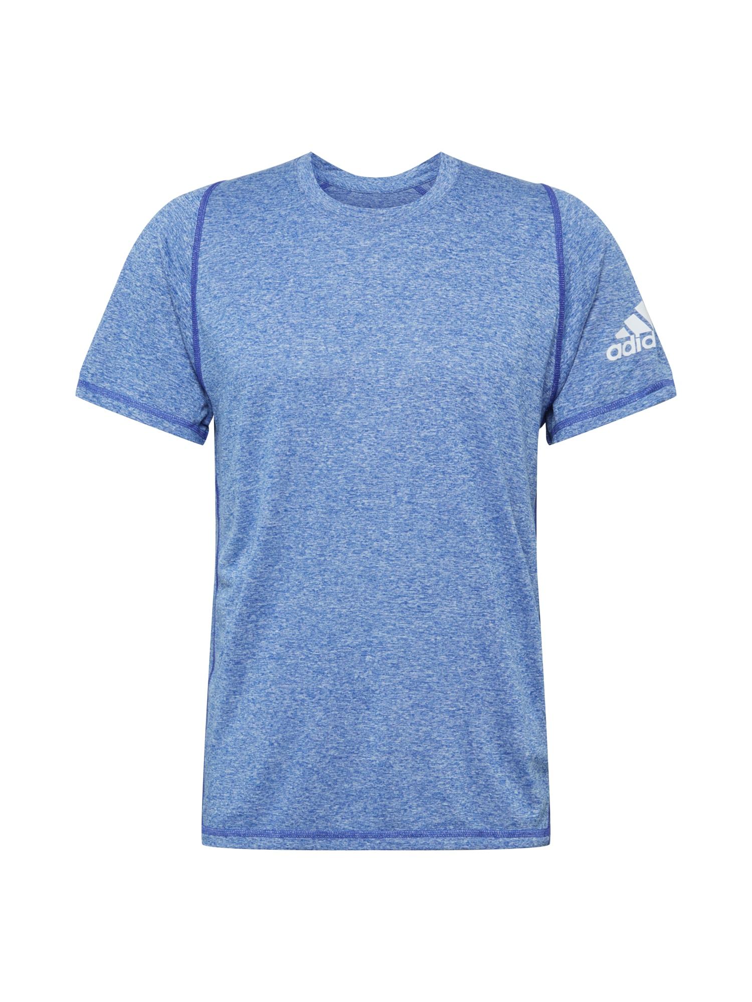ADIDAS PERFORMANCE Funkční tričko  modrá / bílá