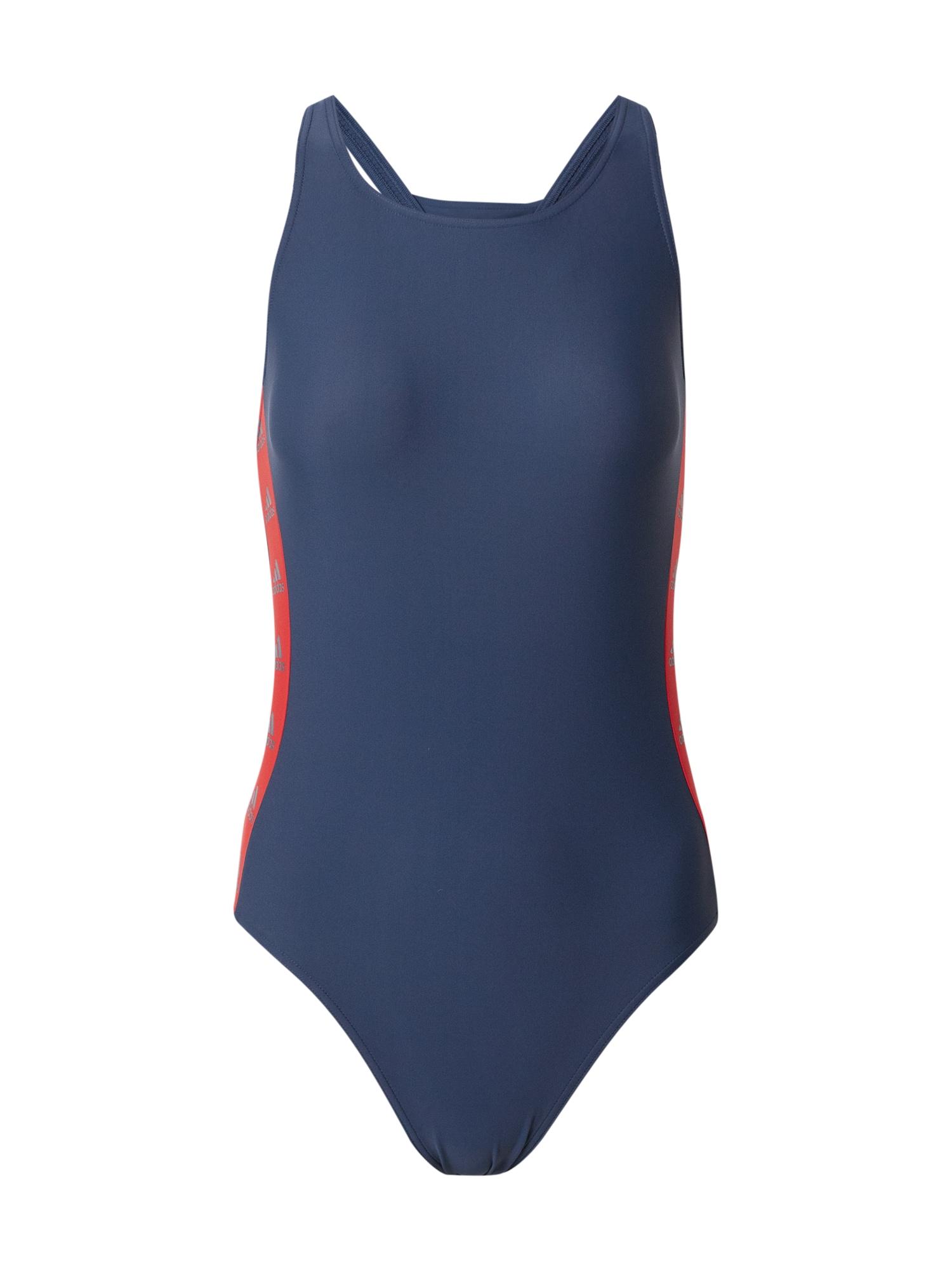 ADIDAS PERFORMANCE Sportovní plavky  námořnická modř / červená