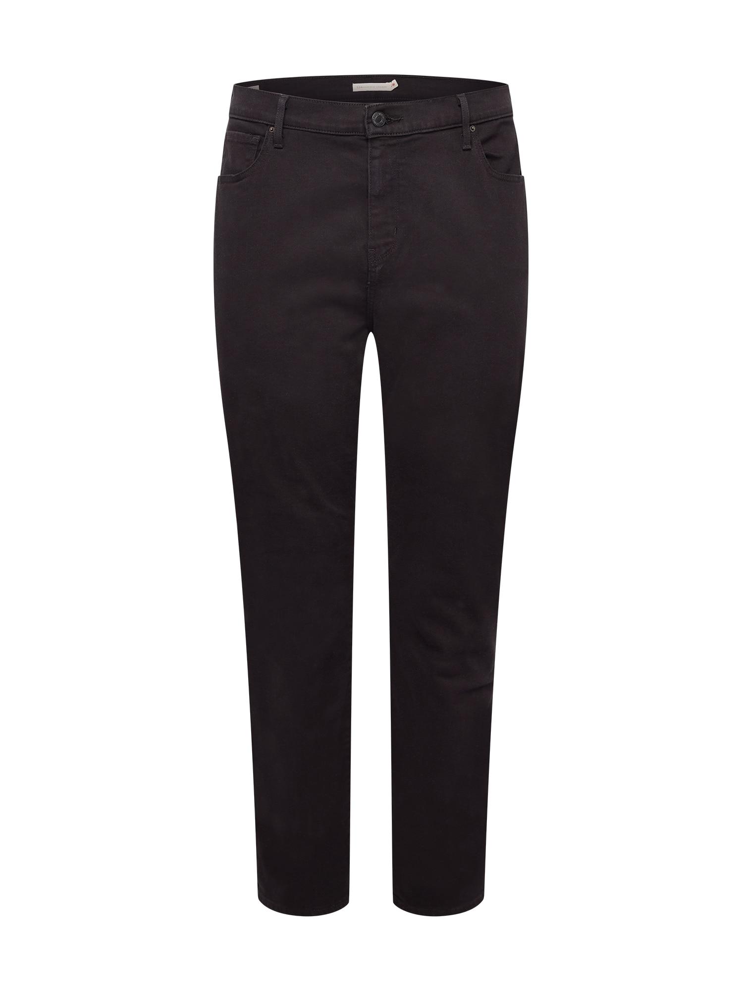 Levi's® Plus Džíny  černá džínovina