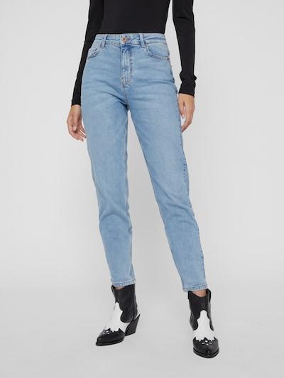 Pieces Kesia Knöchellange Mom-Jeans mit hohem Bund