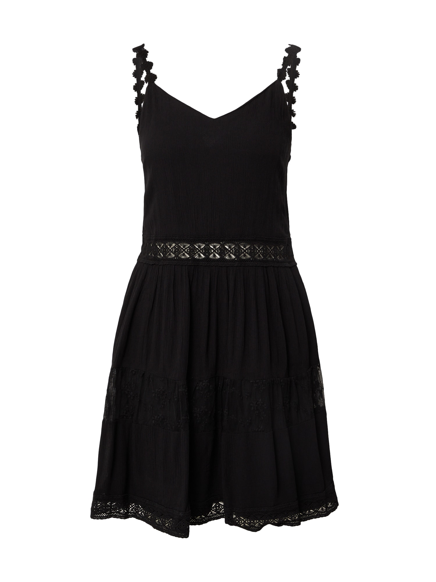 ONLY Letní šaty 'KARMEN ANNE'  černá