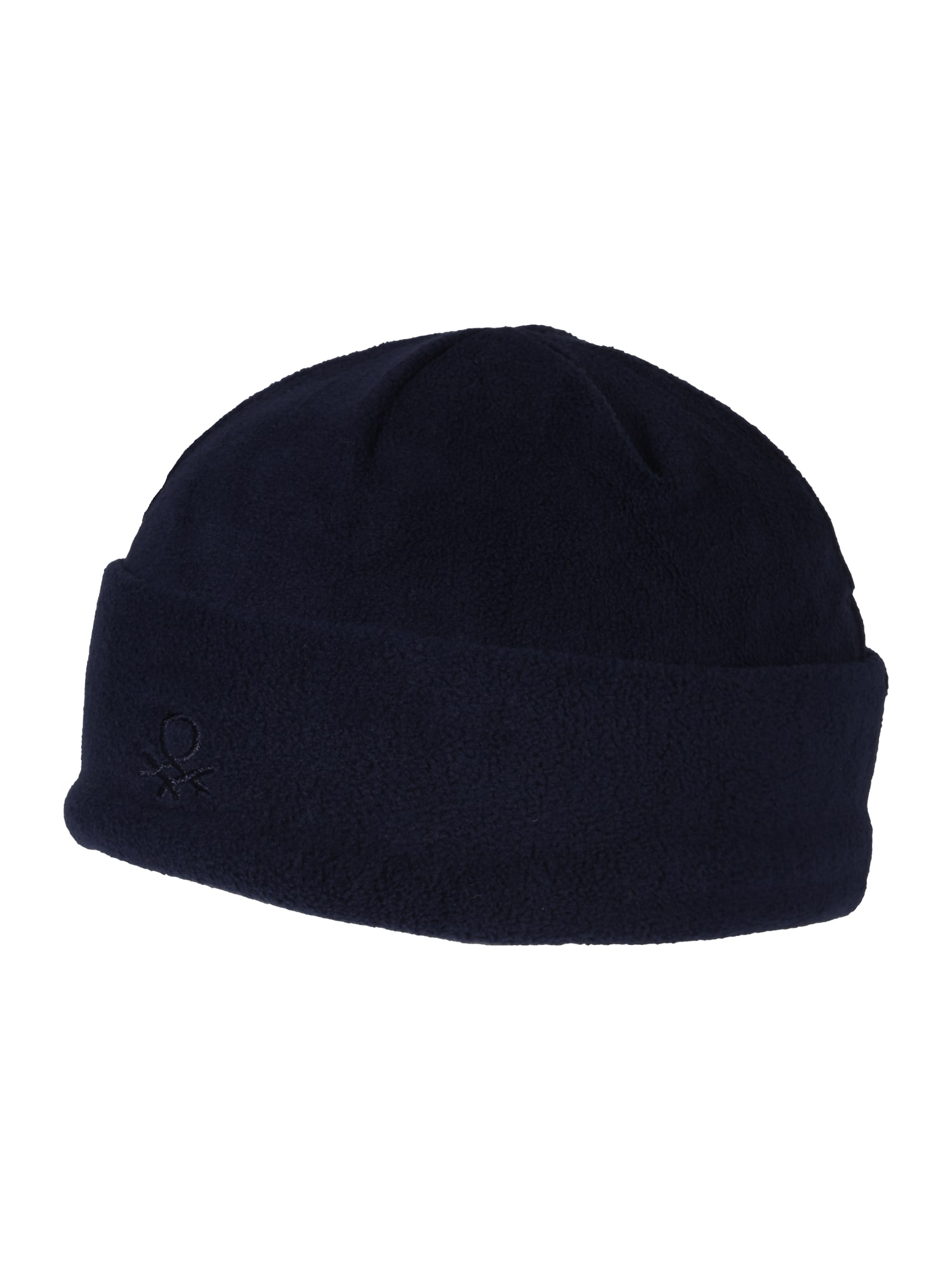 UNITED COLORS OF BENETTON Megzta kepurė tamsiai mėlyna jūros spalva