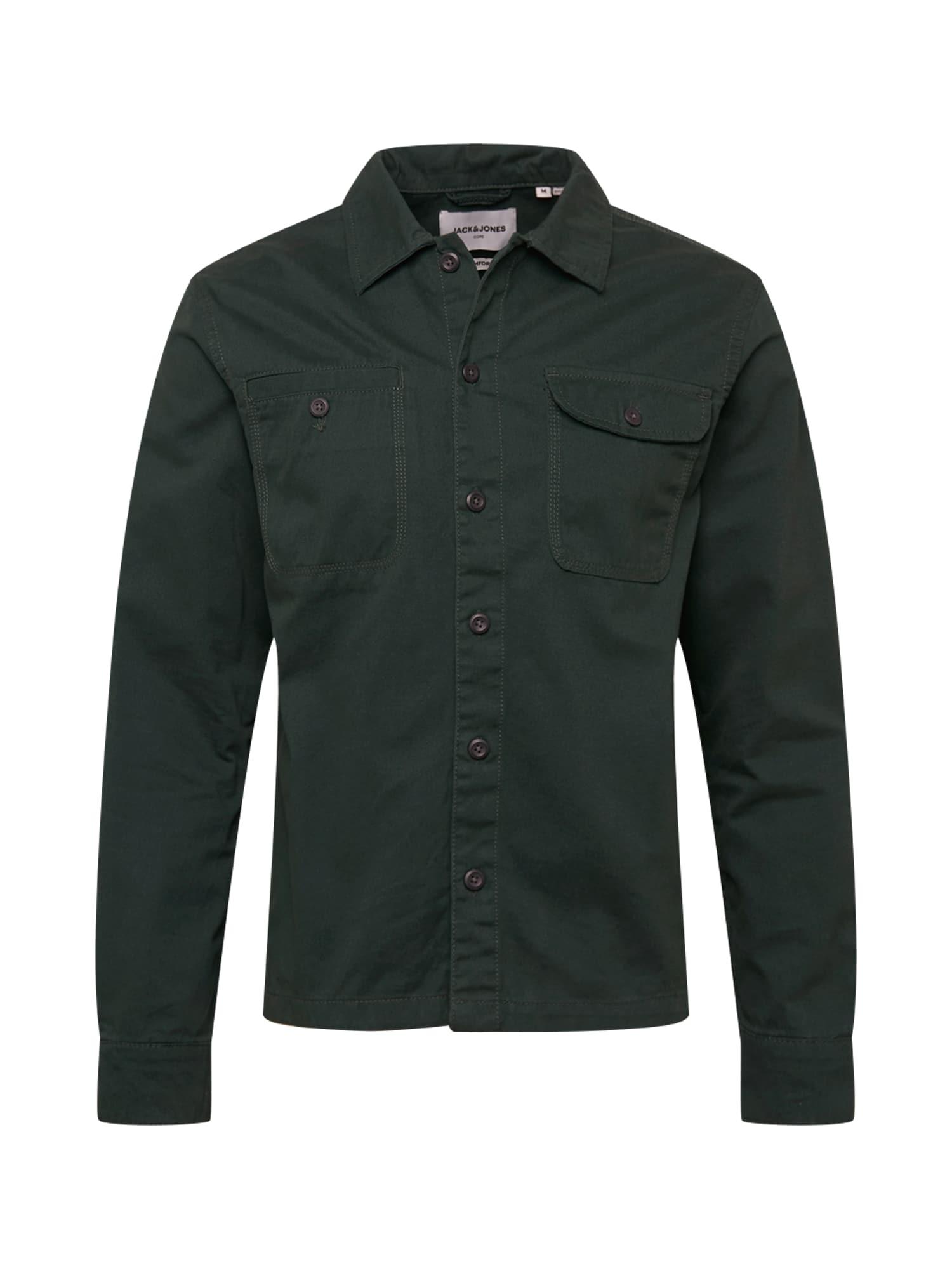 JACK & JONES Košile 'Ben'  tmavě zelená