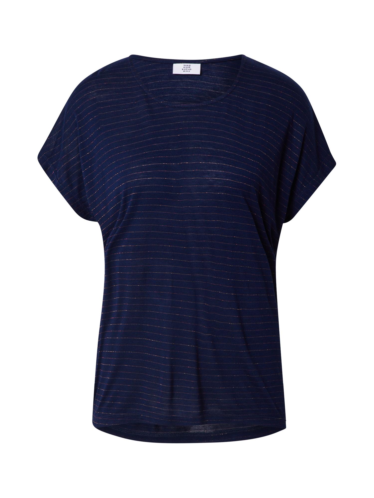 Kauf Dich Glücklich Marškinėliai tamsiai mėlyna / auksas