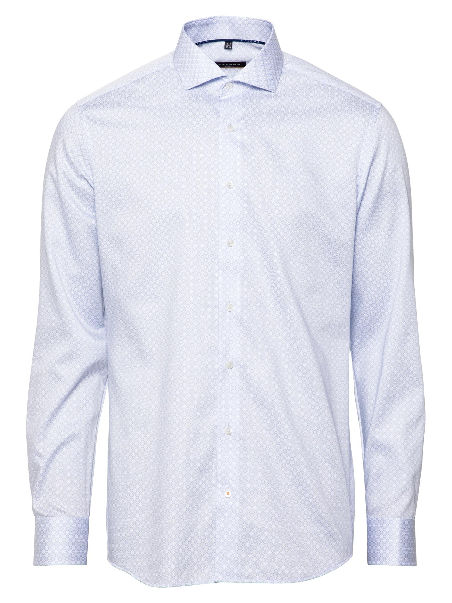 ETERNA Marškiniai balta / šviesiai mėlyna