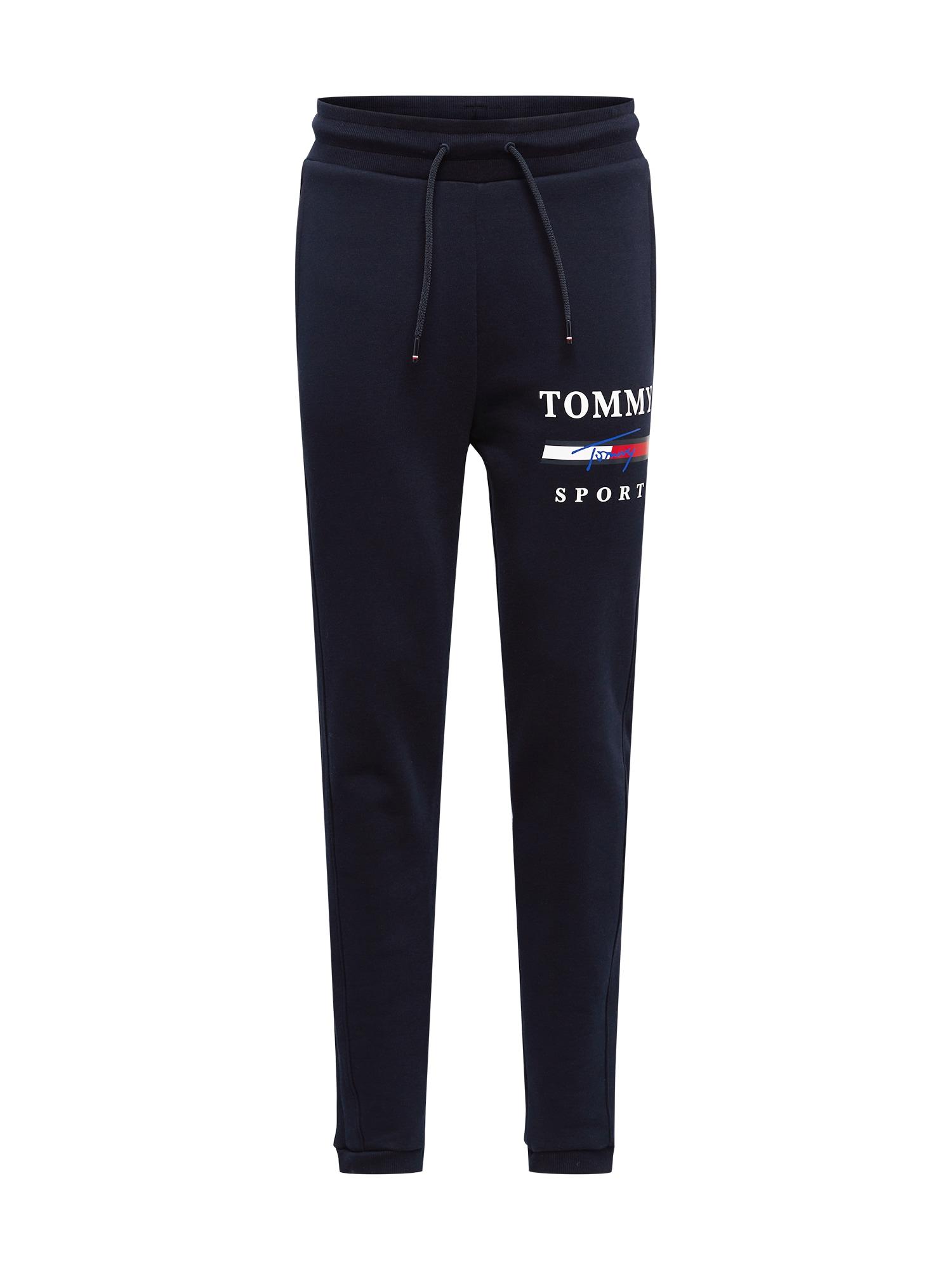 "Tommy Sport Sportinės kelnės tamsiai mėlyna / balta / raudona / sodri mėlyna (""karališka"")"