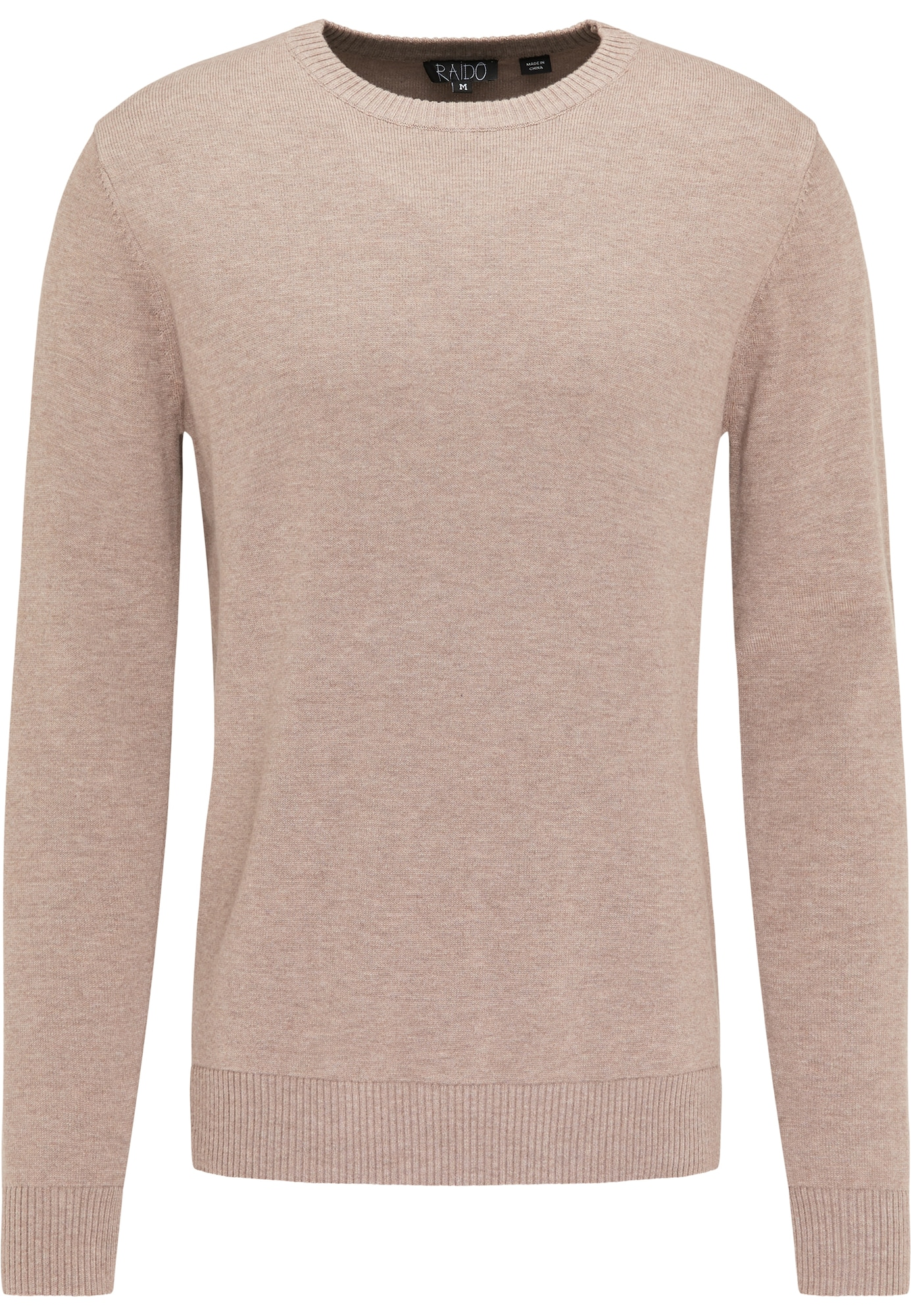RAIDO Megztinis šviesiai ruda