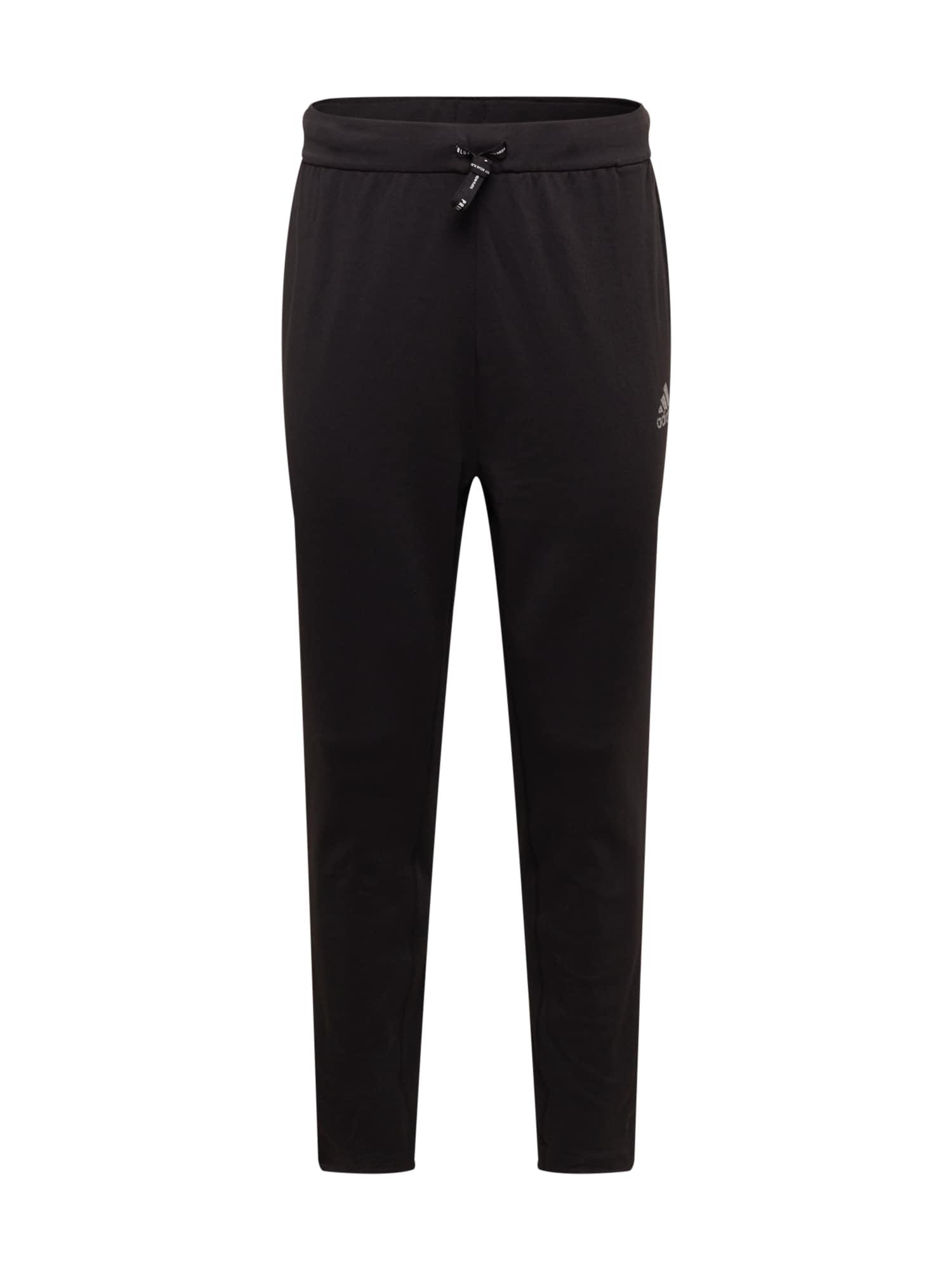 ADIDAS PERFORMANCE Sportovní kalhoty  černá