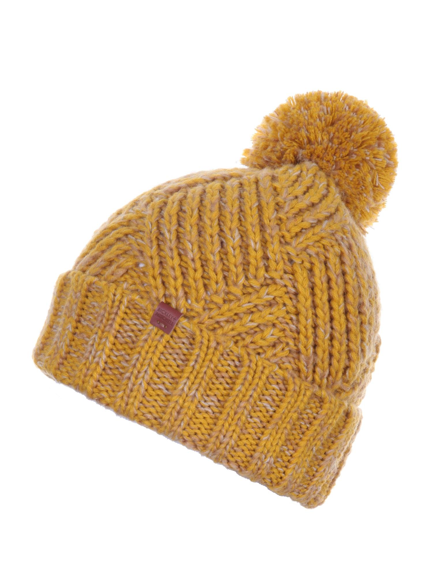 Bickley + Mitchell Megzta kepurė tamsiai geltona
