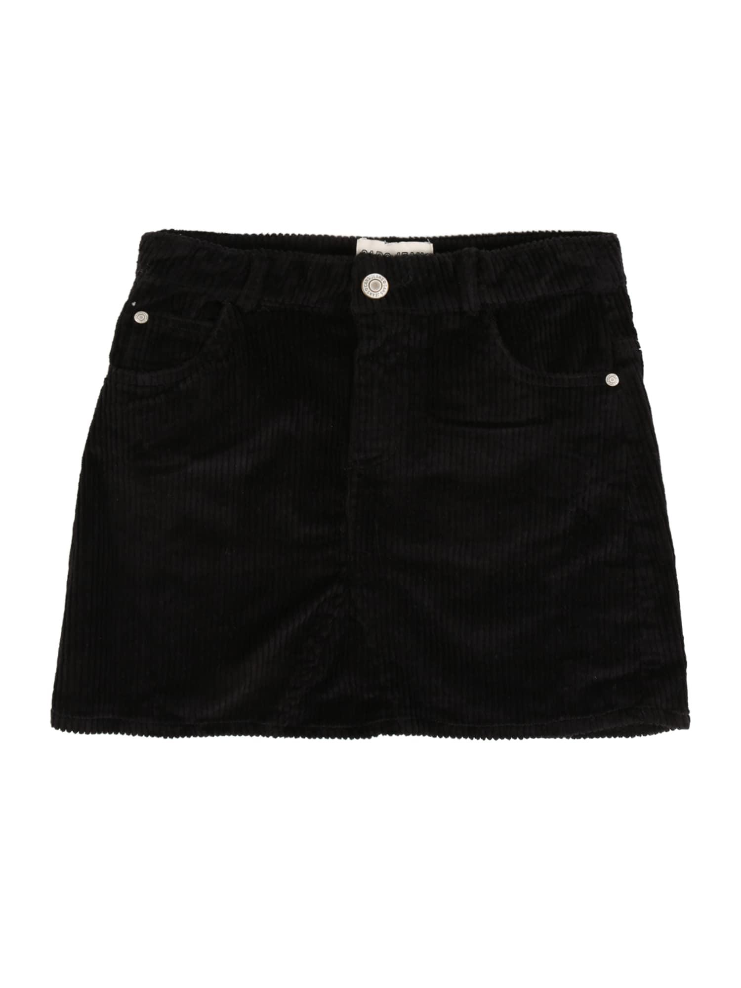 Cars Jeans Sukně 'Marin'  černá