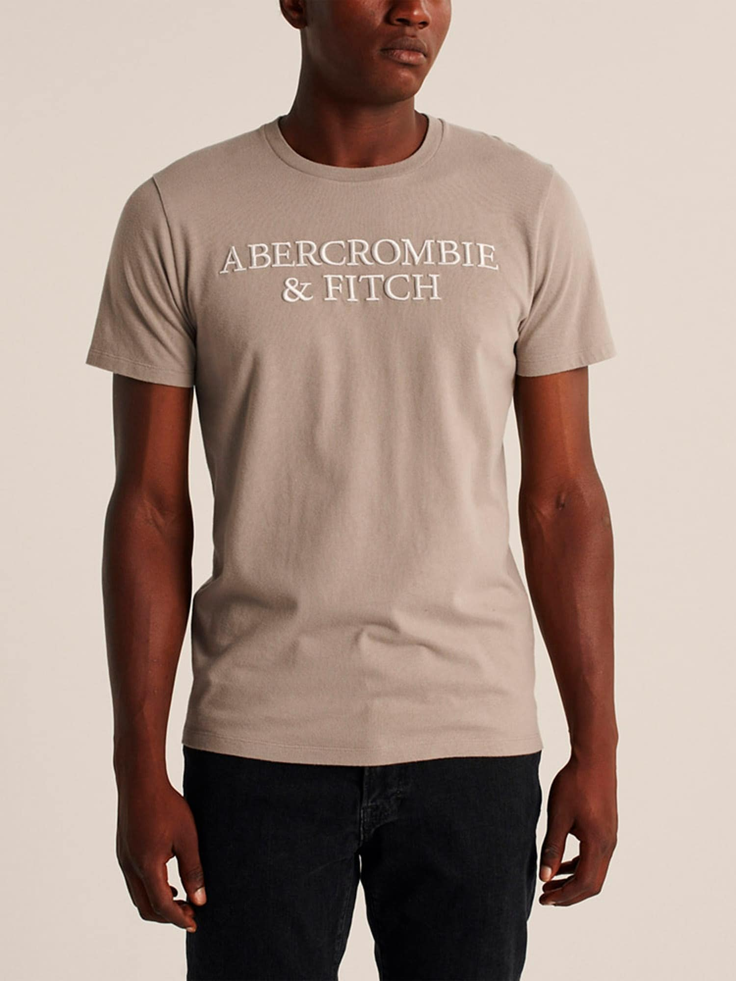 Abercrombie & Fitch T-shirt  beige