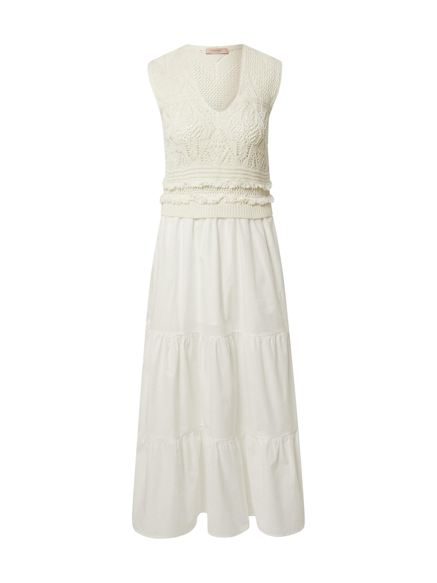 Twinset Suknelė balta