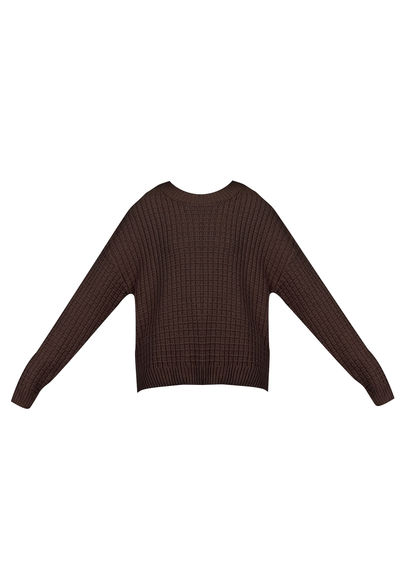 myMo NOW Megztinis tamsiai ruda