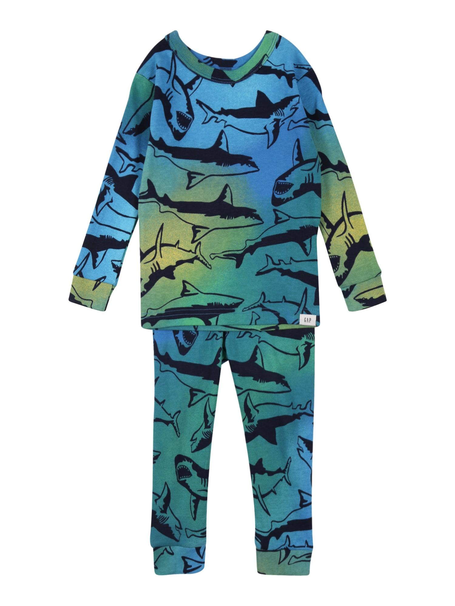GAP Miego kostiumas mėlyna / geltona / tamsiai mėlyna