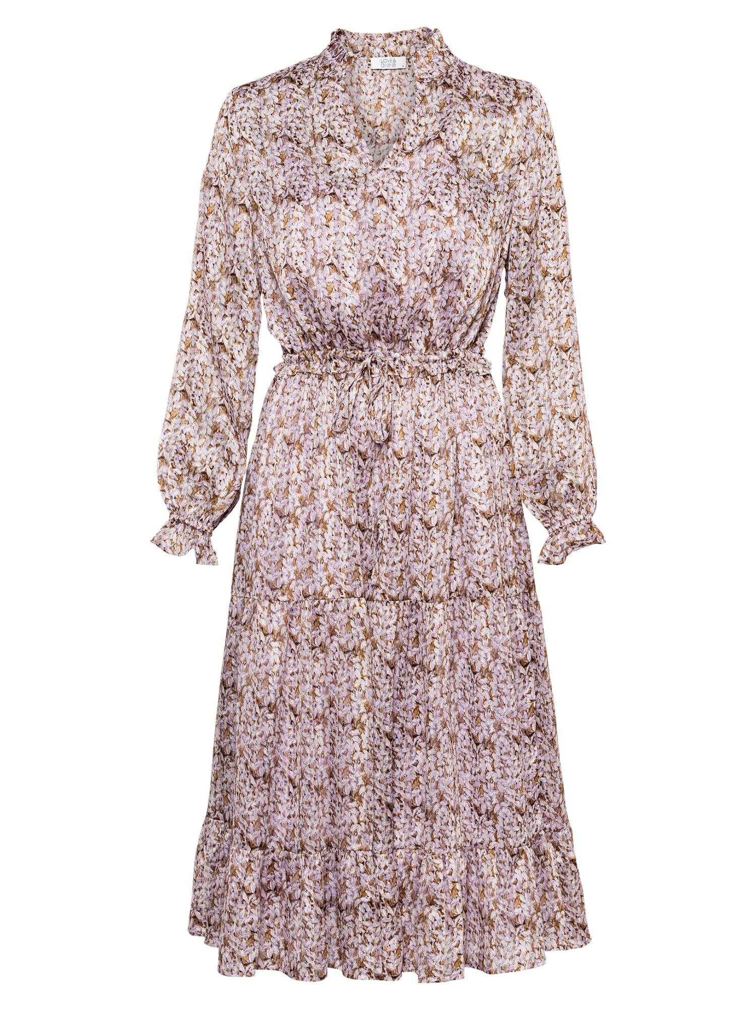 Love & Divine Palaidinės tipo suknelė purpurinė / mišrios spalvos