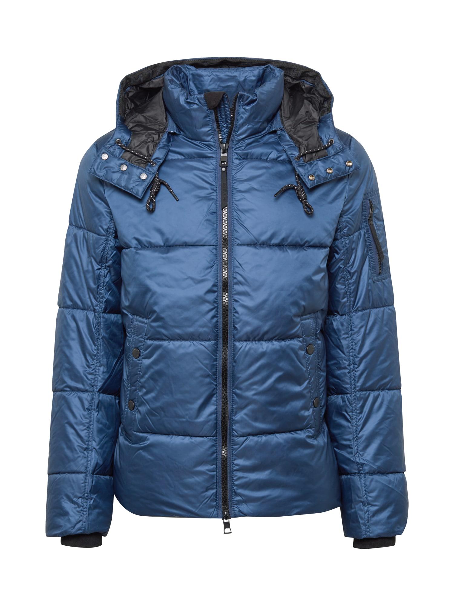 TOM TAILOR Zimní bunda  noční modrá