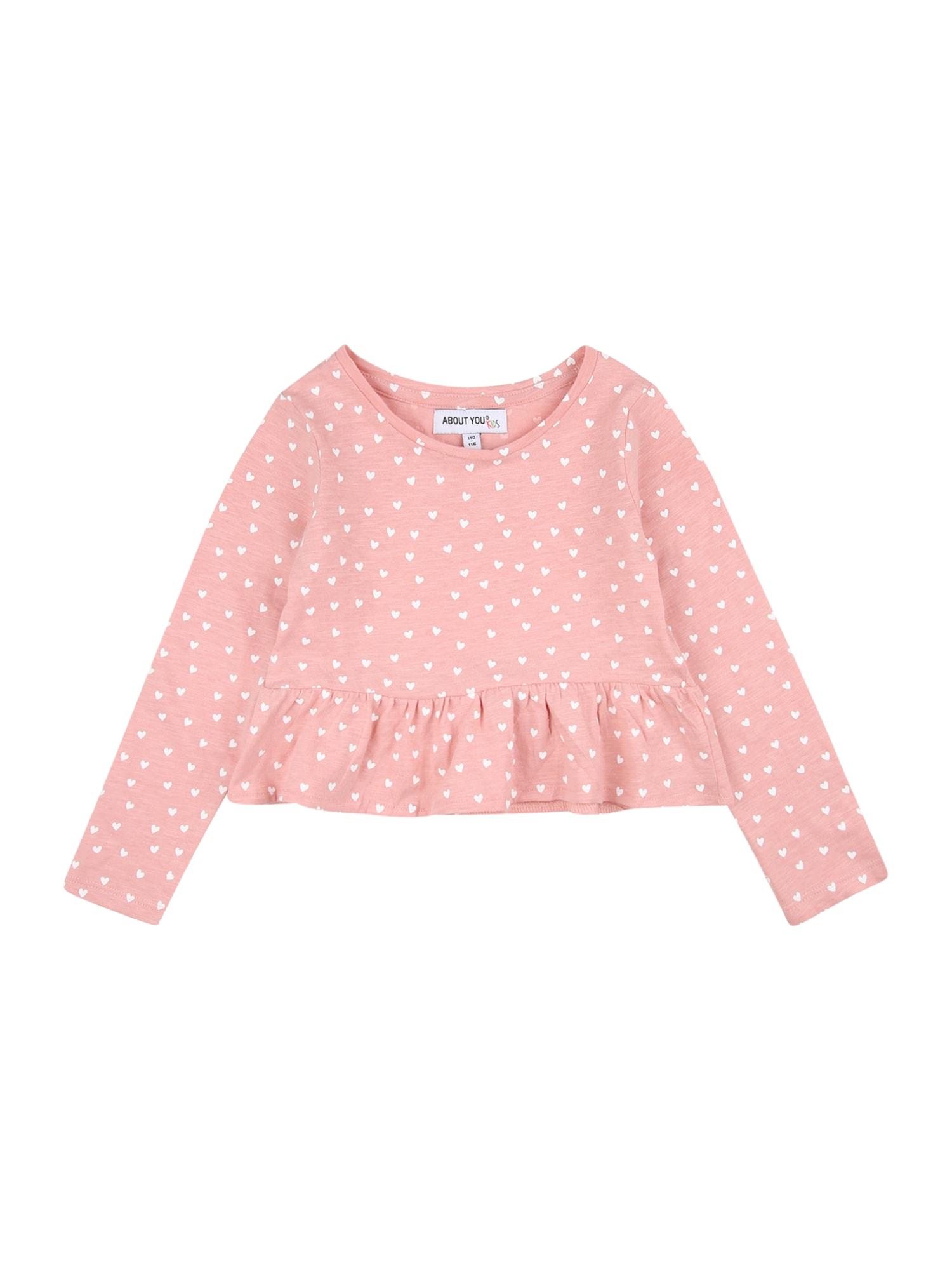 ABOUT YOU Marškinėliai 'Nana' rožių spalva