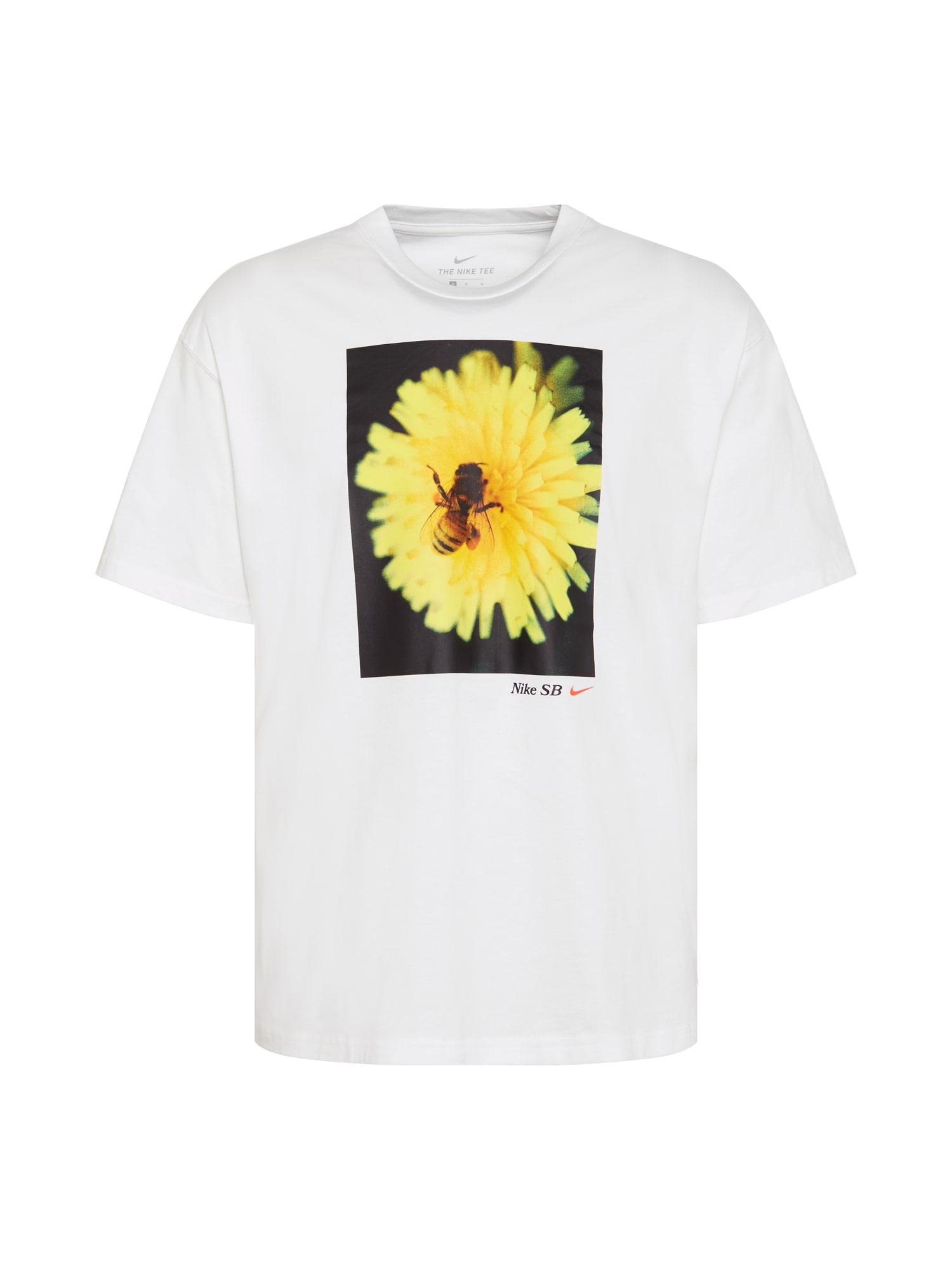 Nike SB Marškinėliai balta / mišrios spalvos