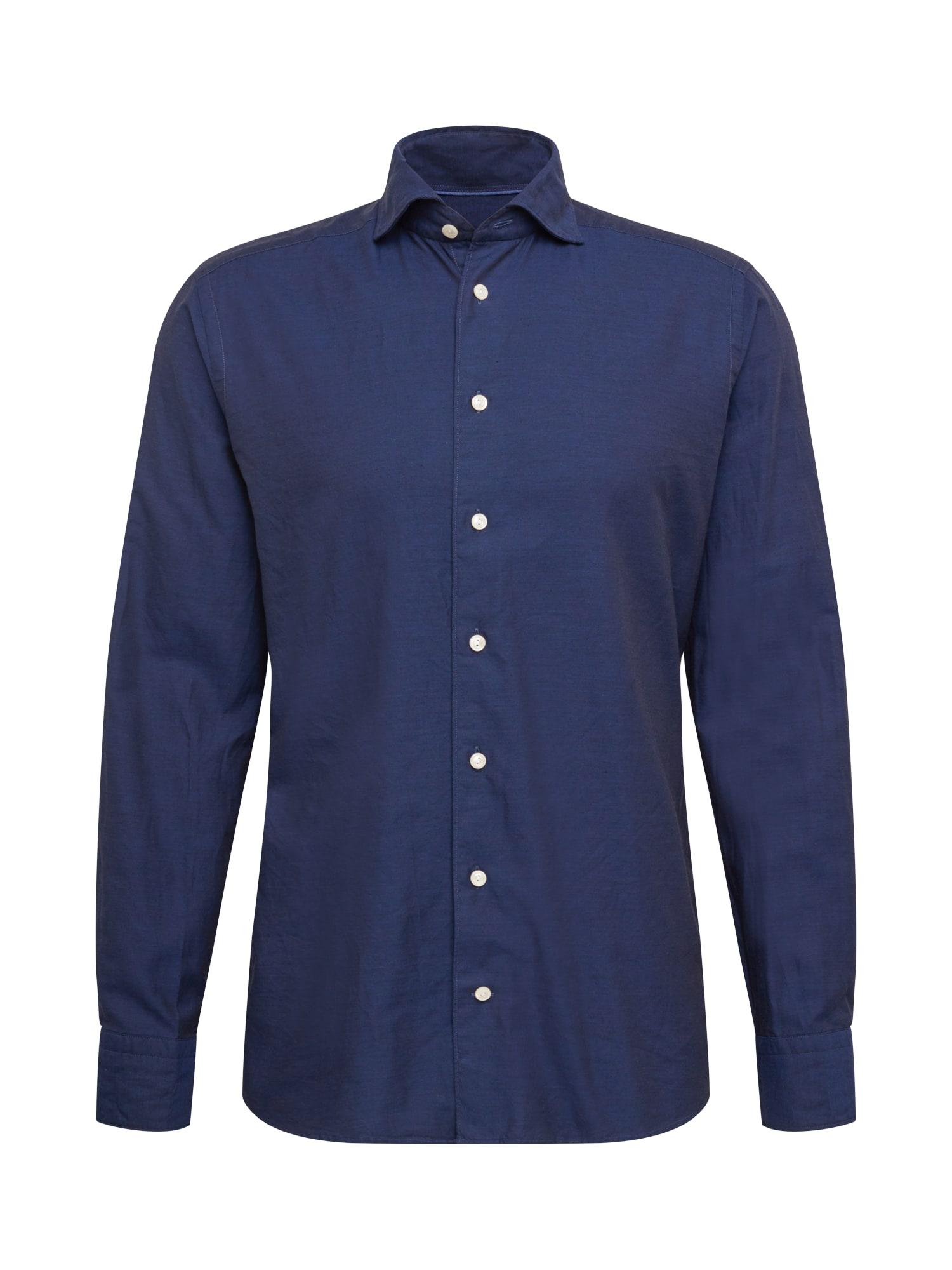 ETON Dalykinio stiliaus marškiniai tamsiai mėlyna