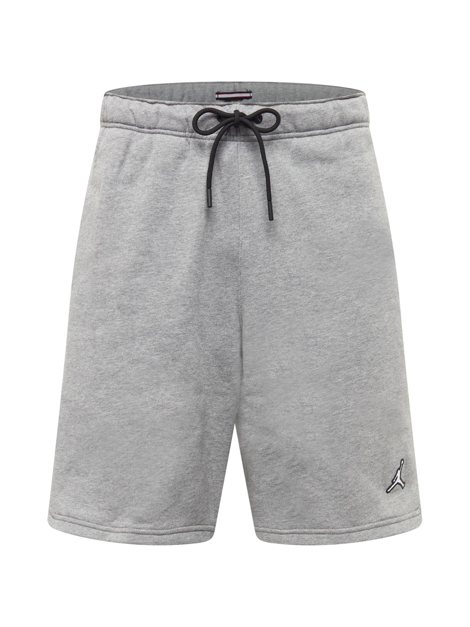 Jordan Kelnės pilka / balta / juoda