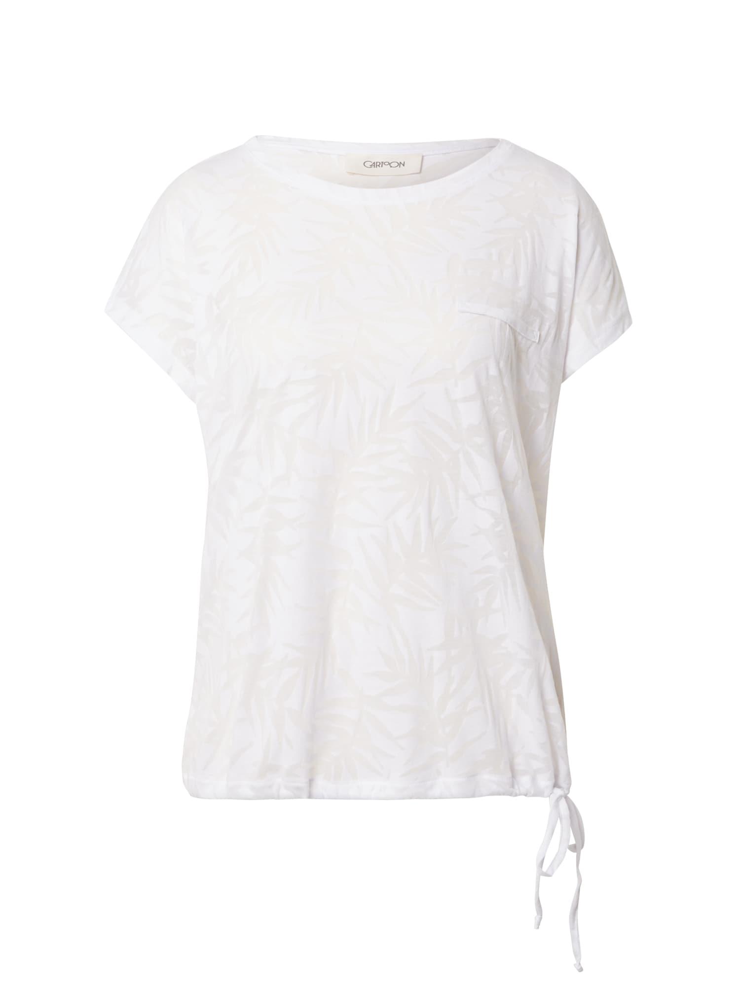Cartoon Marškinėliai balta