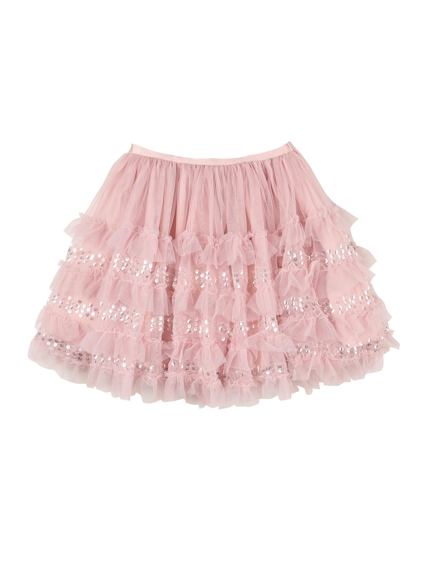 Cotton On Sijonas rožinė / sidabrinė