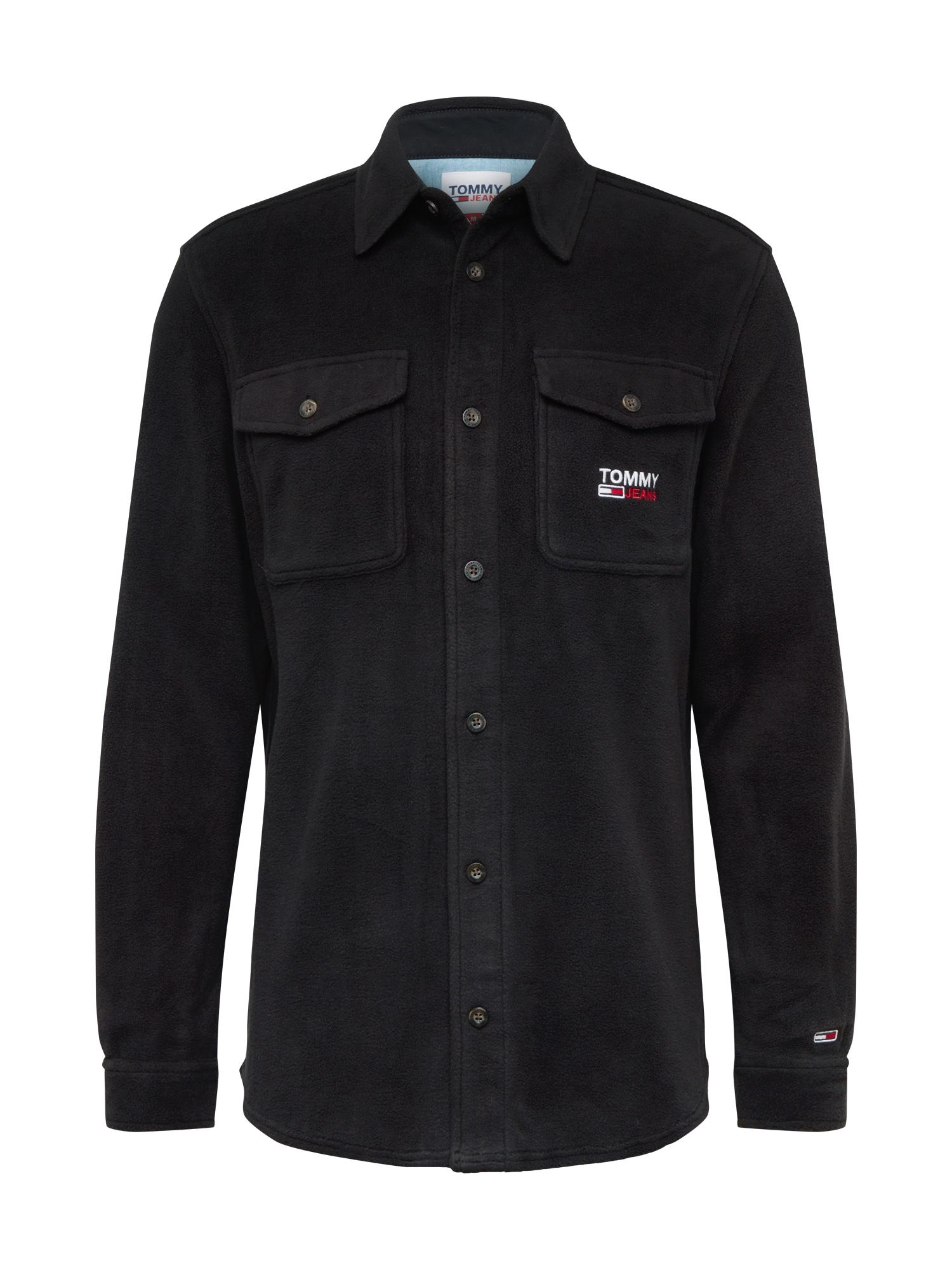 Tommy Jeans Dalykiniai marškiniai juoda