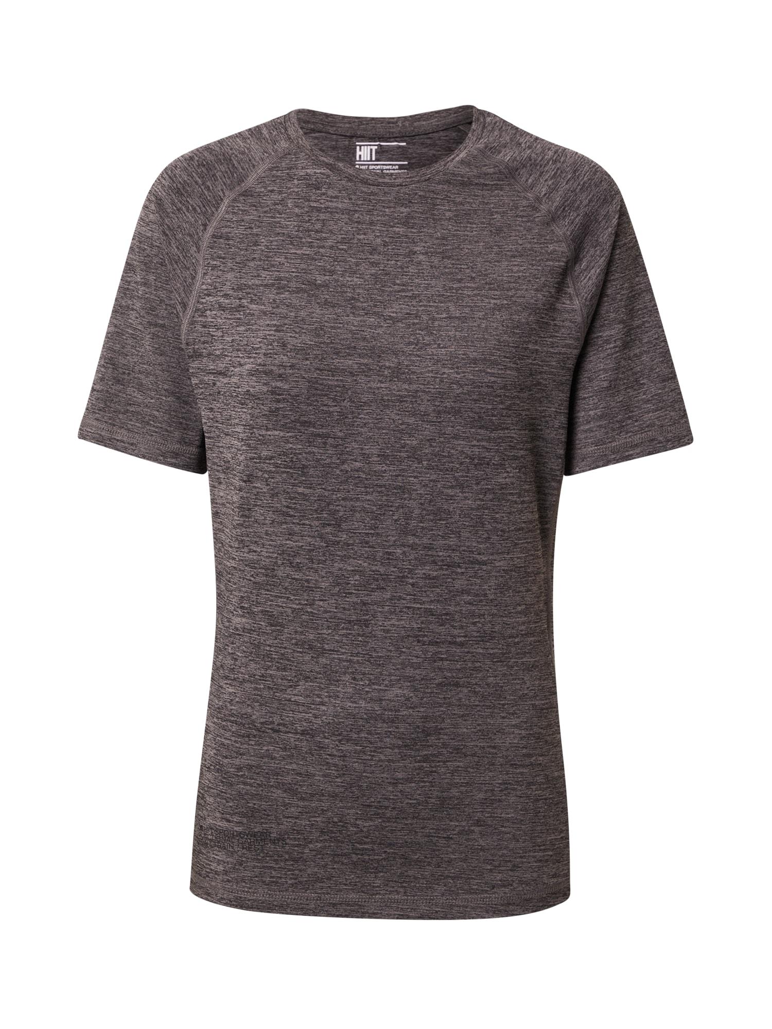 HIIT Sportiniai marškinėliai juoda