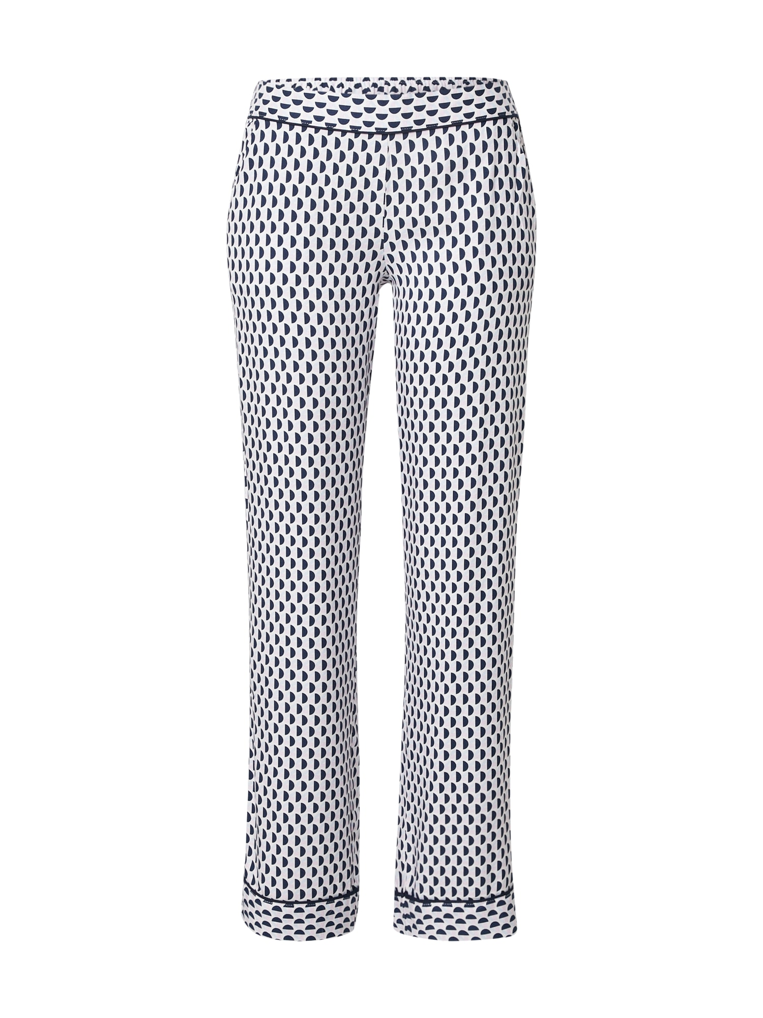ETAM Pyžamové nohavice 'MADDEN'  pastelovo fialová / biela / námornícka modrá / svetlomodrá