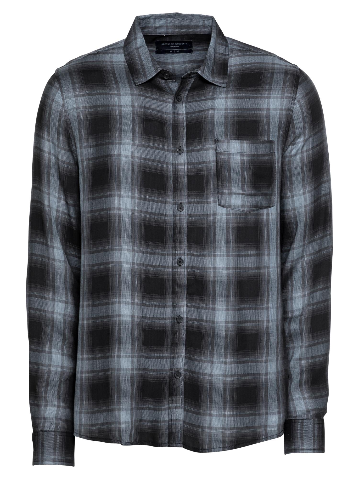 Cotton On Marškiniai juoda / opalo