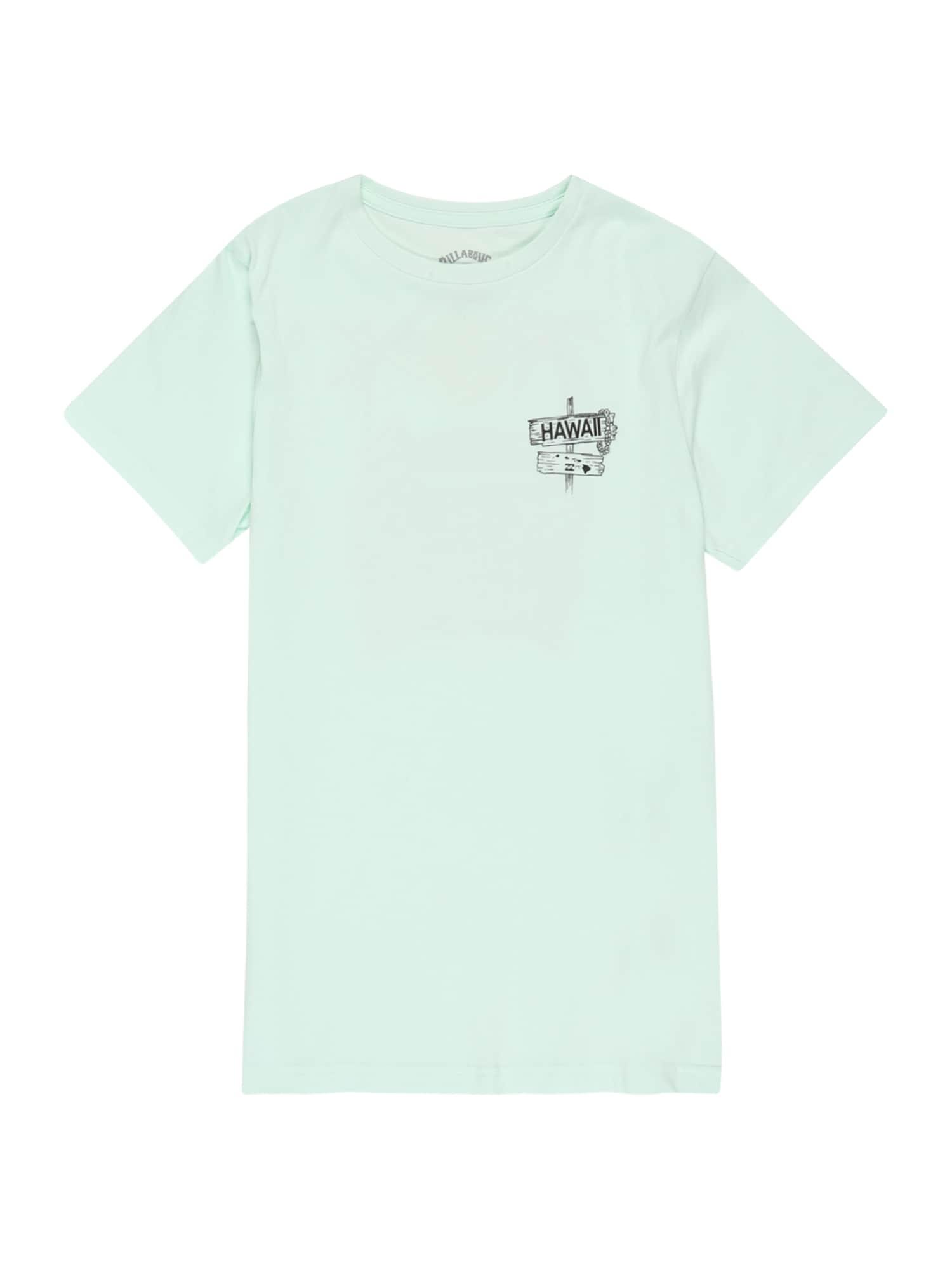 BILLABONG Sportiniai marškinėliai 'DREAMY PLACES' turkio spalva / mišrios spalvos