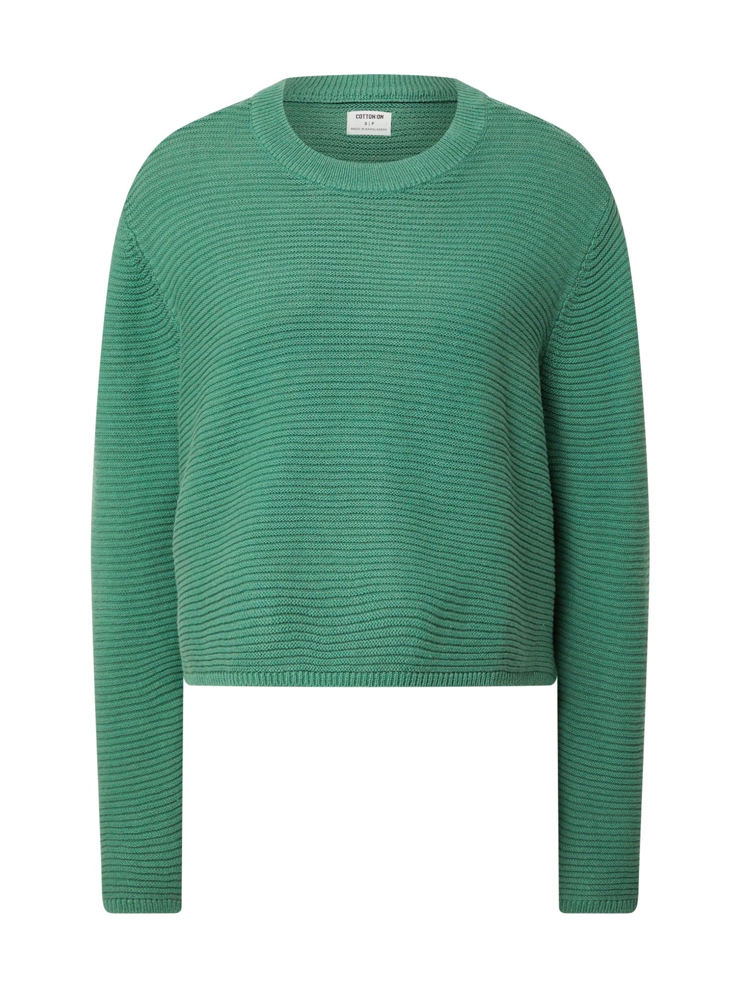 Cotton On Megztinis žalia