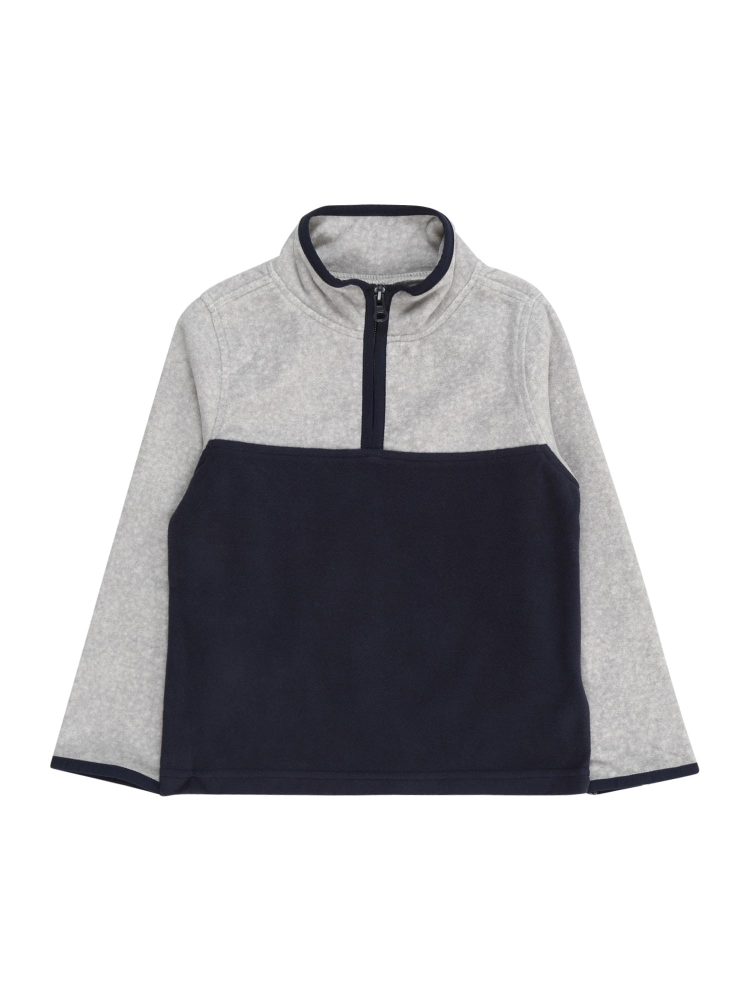 OshKosh Megztinis be užsegimo tamsiai mėlyna / šviesiai pilka