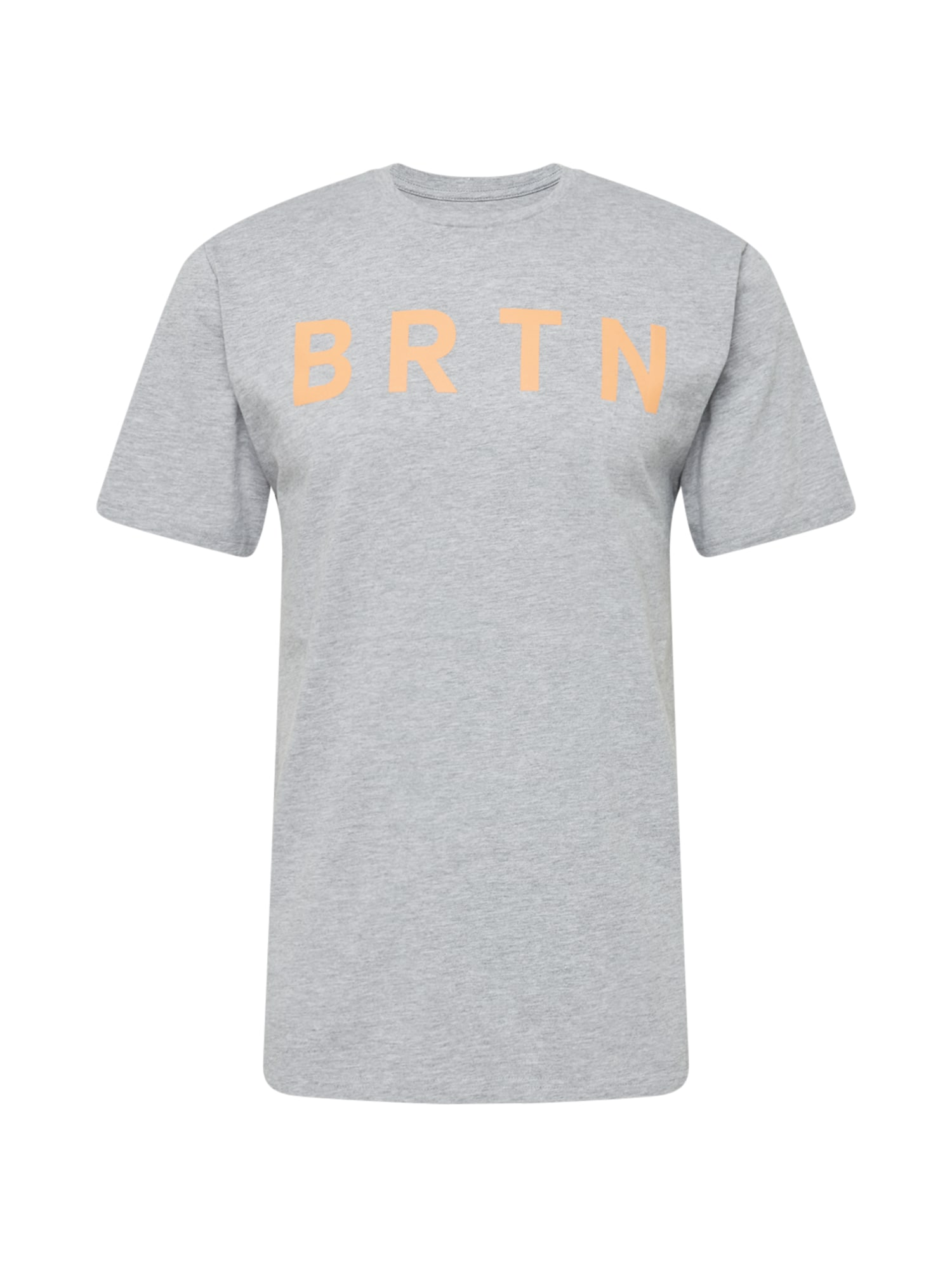 BURTON Marškinėliai margai pilka / šafrano spalva
