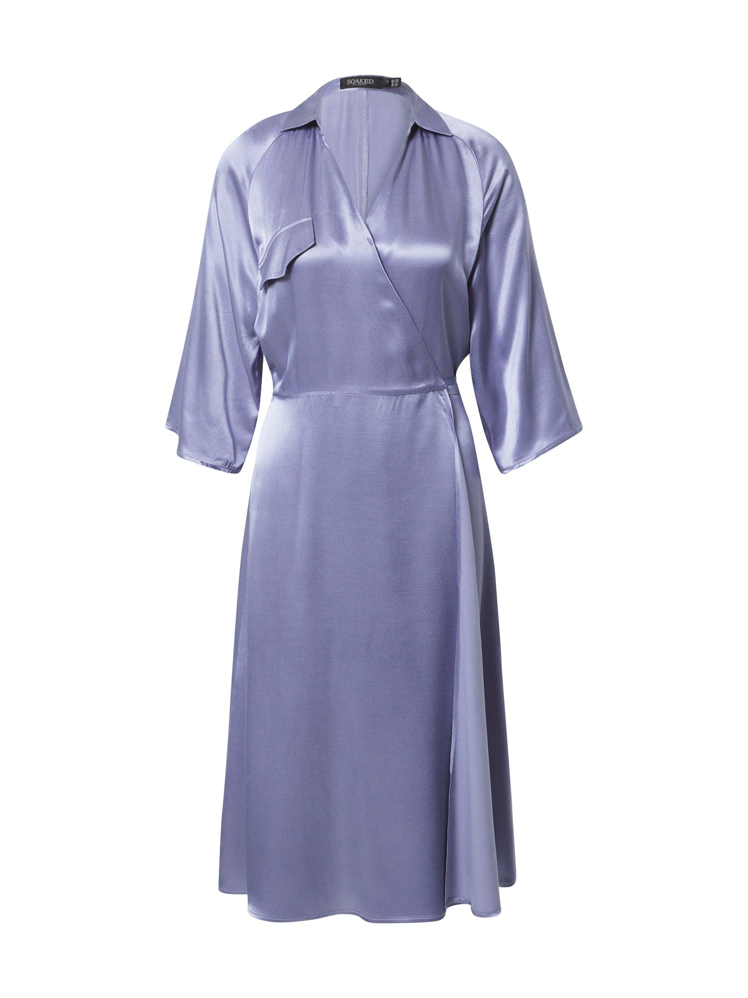 SOAKED IN LUXURY Suknelė purpurinė