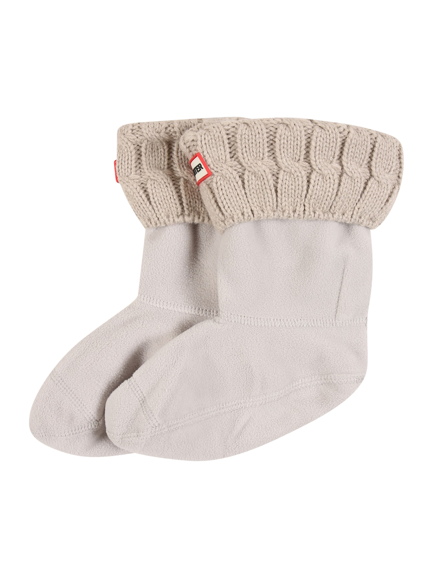 HUNTER Ponožky '6 STITCH CABLE'  režná