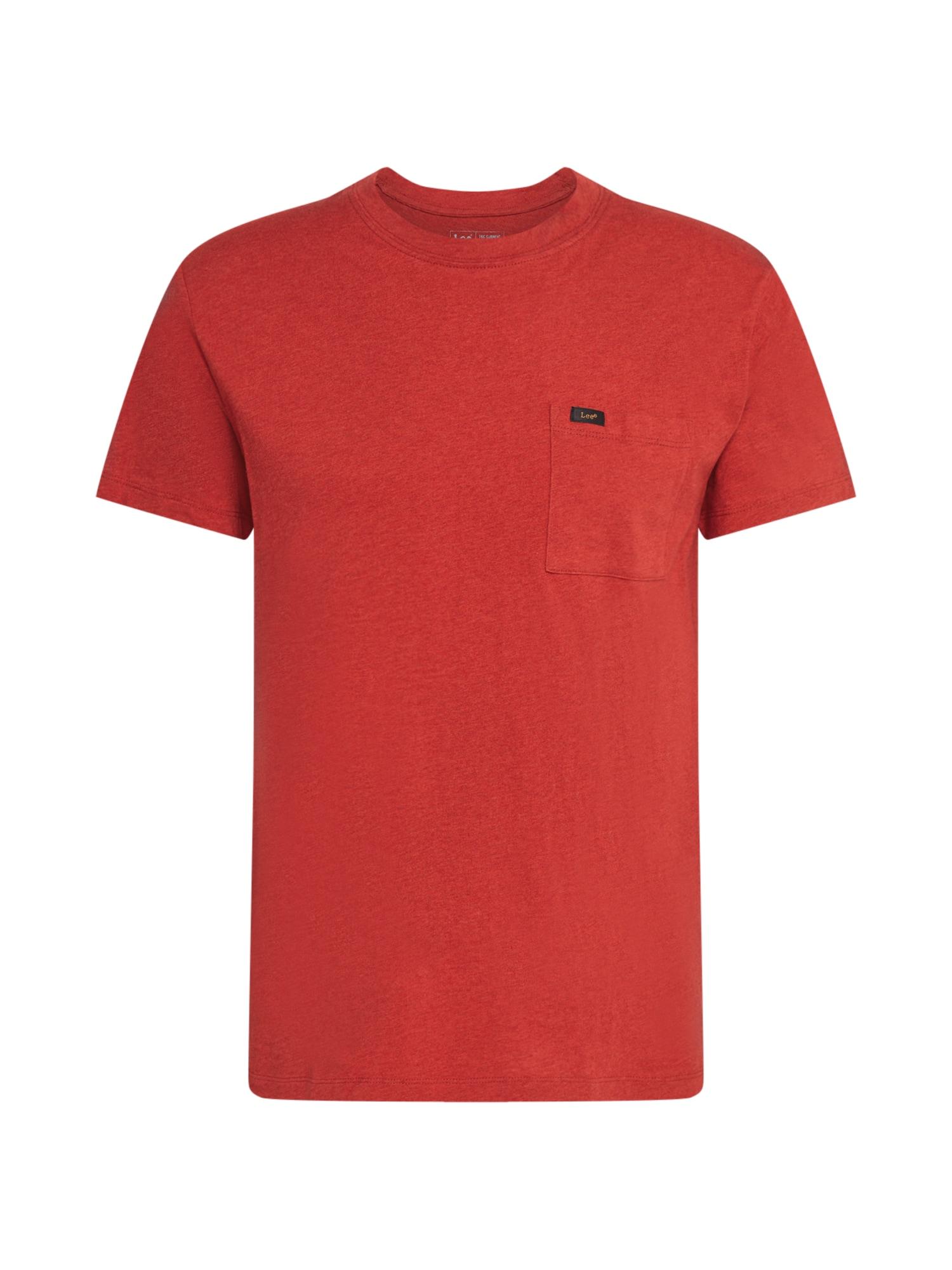 Lee Tričko 'Ultimate Pocket'  červená