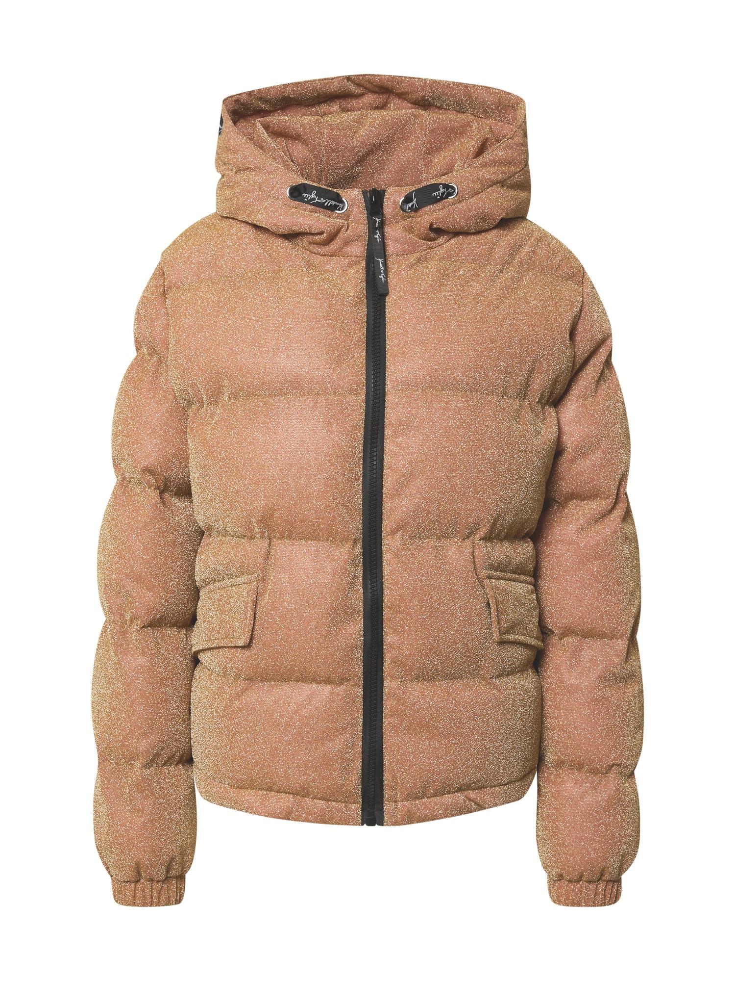 KENDALL + KYLIE Žieminė striukė oranžinė / auksas