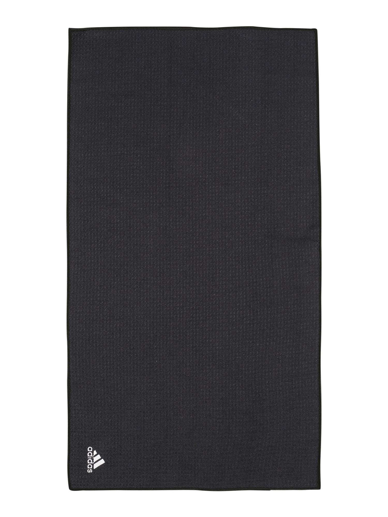 adidas Golf Rankšluostis juoda / balta