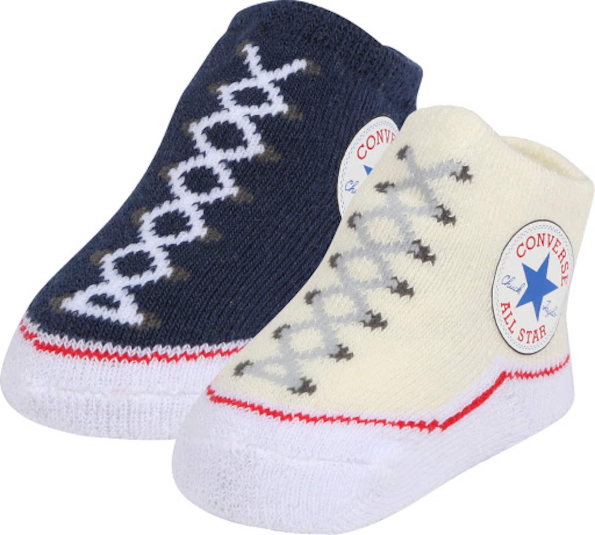 CONVERSE Ponožky 'Chuck Taylor'  námořnická modř / mix barev / pastelově žlutá