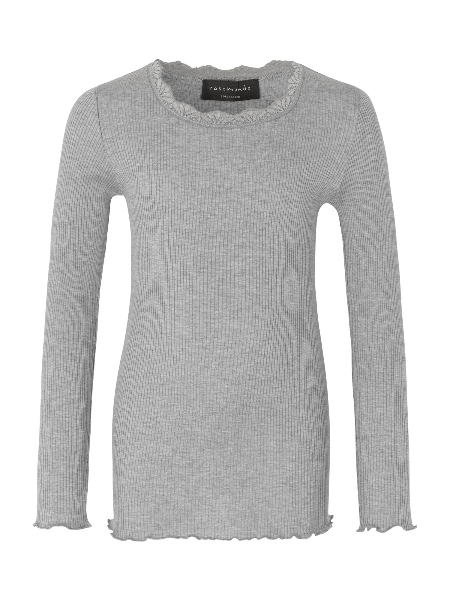rosemunde Marškinėliai šviesiai pilka