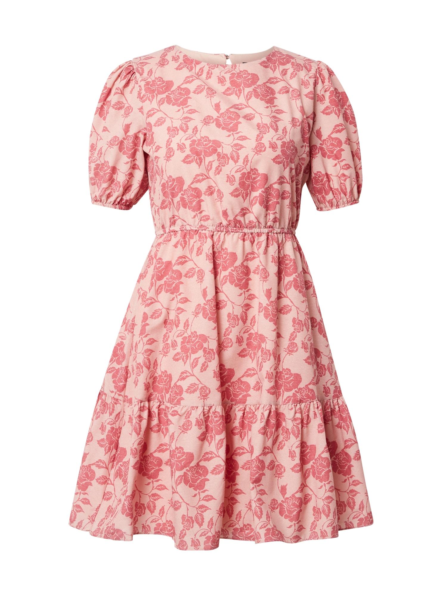 Trendyol Šaty  růžová / růže