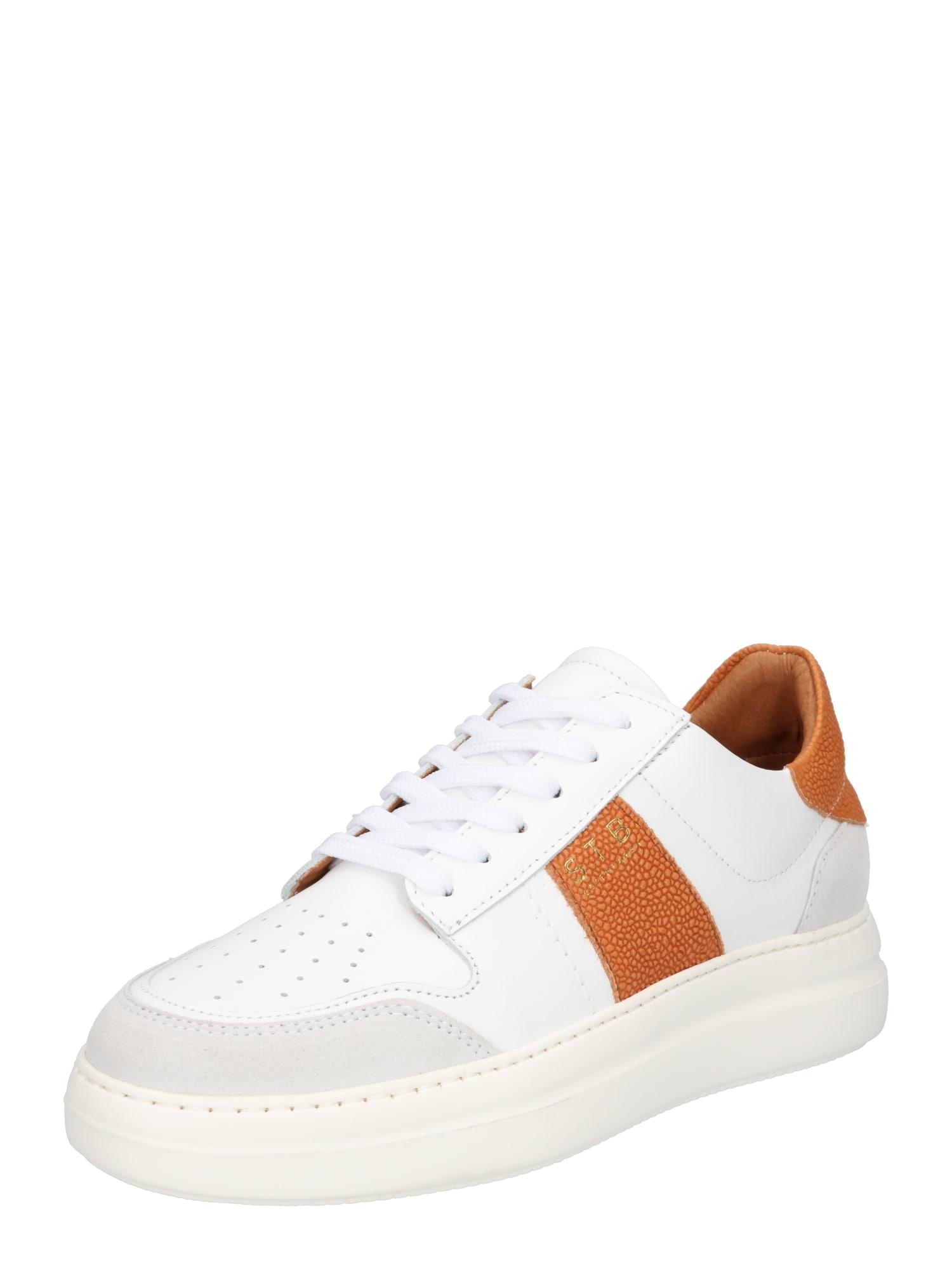 Shoe The Bear Sportbačiai be auliuko oranžinė / balta / šviesiai pilka