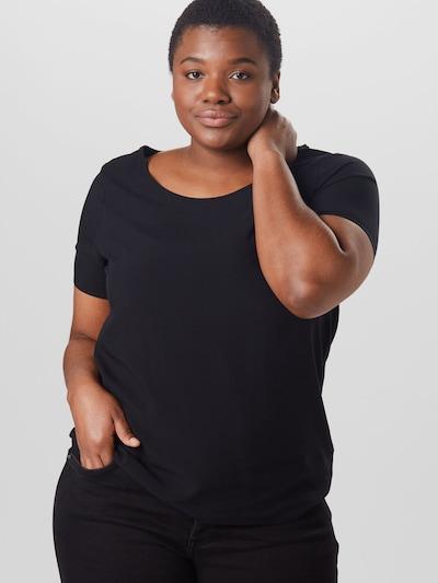 Only Carmakoma Firstly Kurzarm-T-Shirt mit rundem Halsausschnitt