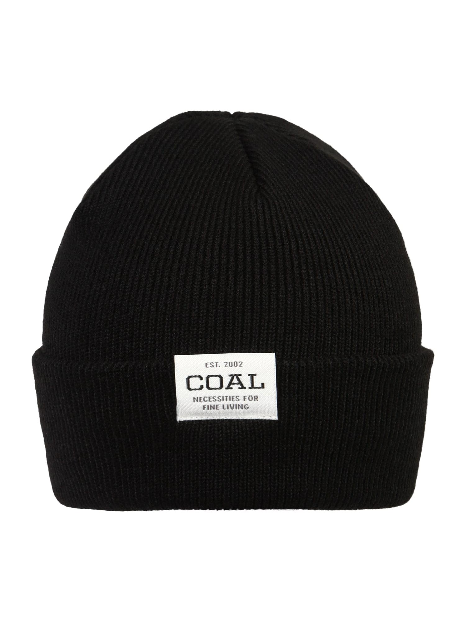 Coal Čepice  černá / bílá