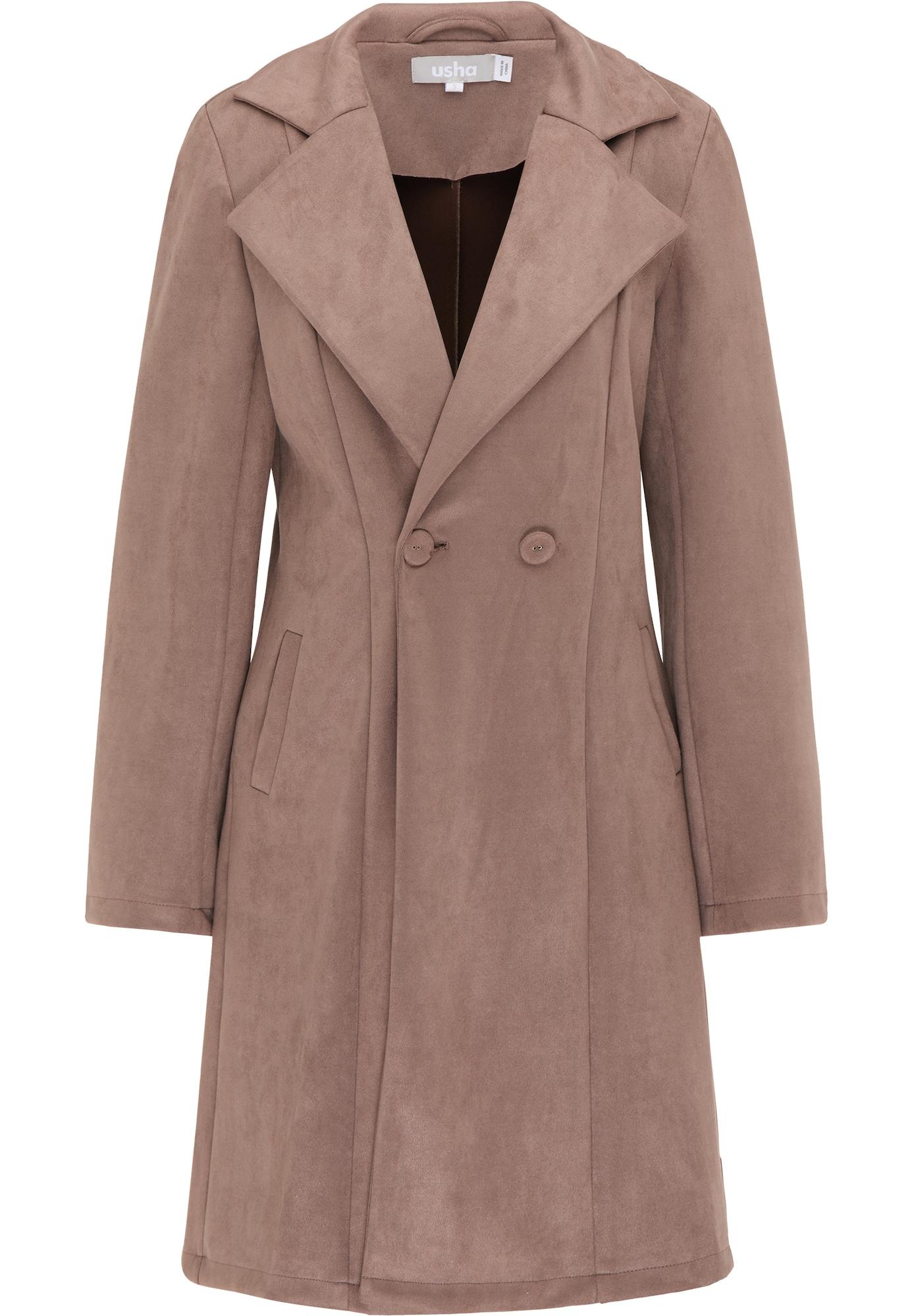 Usha Demisezoninis paltas šviesiai ruda