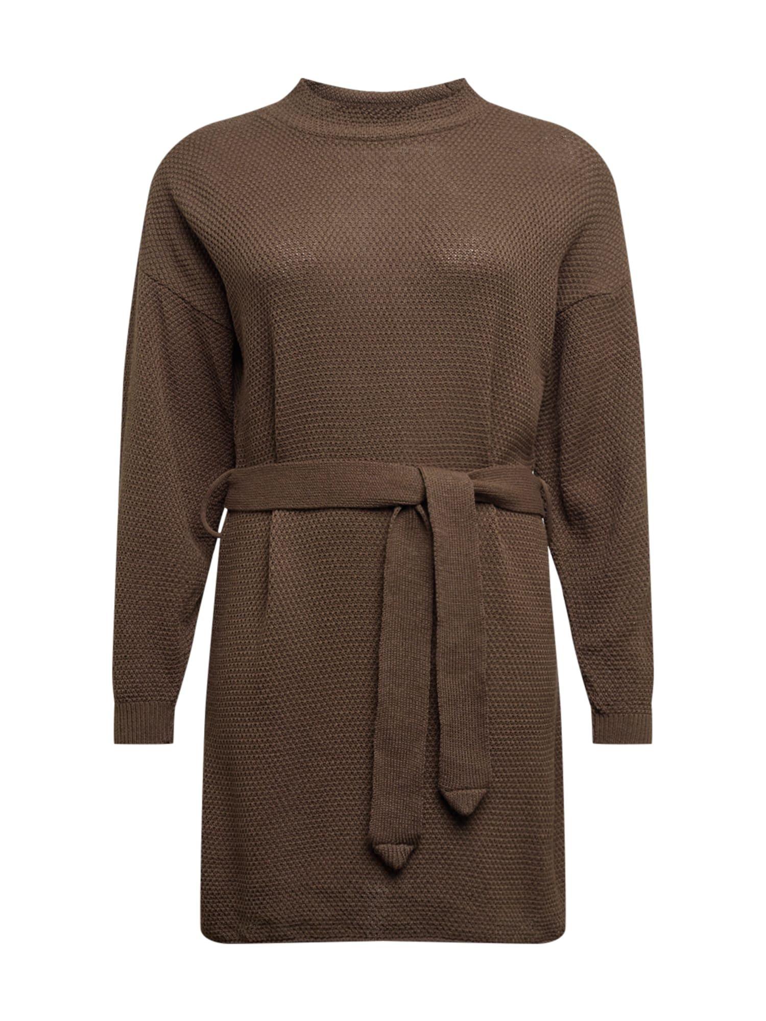 GLAMOROUS CURVE Úpletové šaty 'LC1029X'  khaki